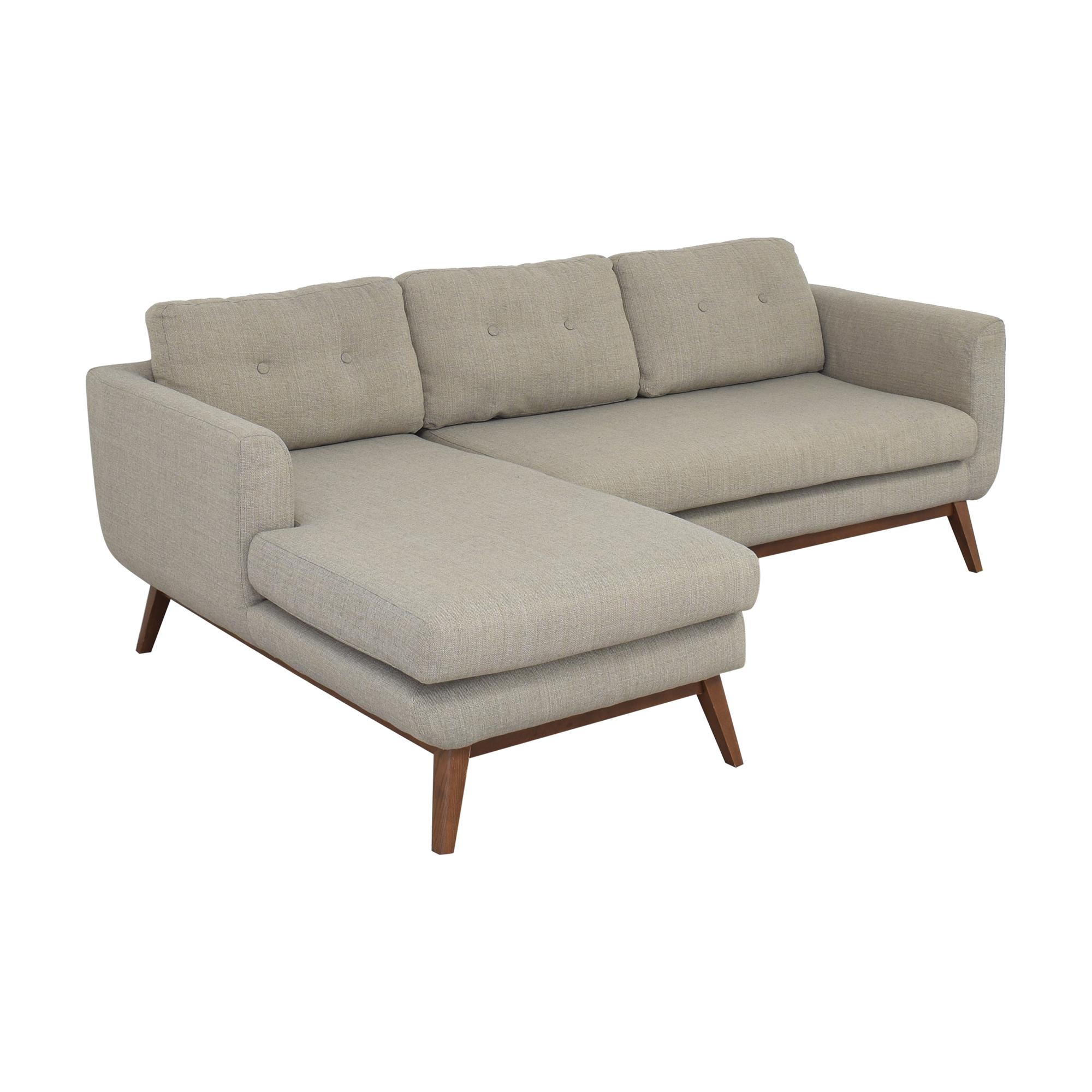 AllModern AllModern Keating Sofa and Chaise Sectional beige