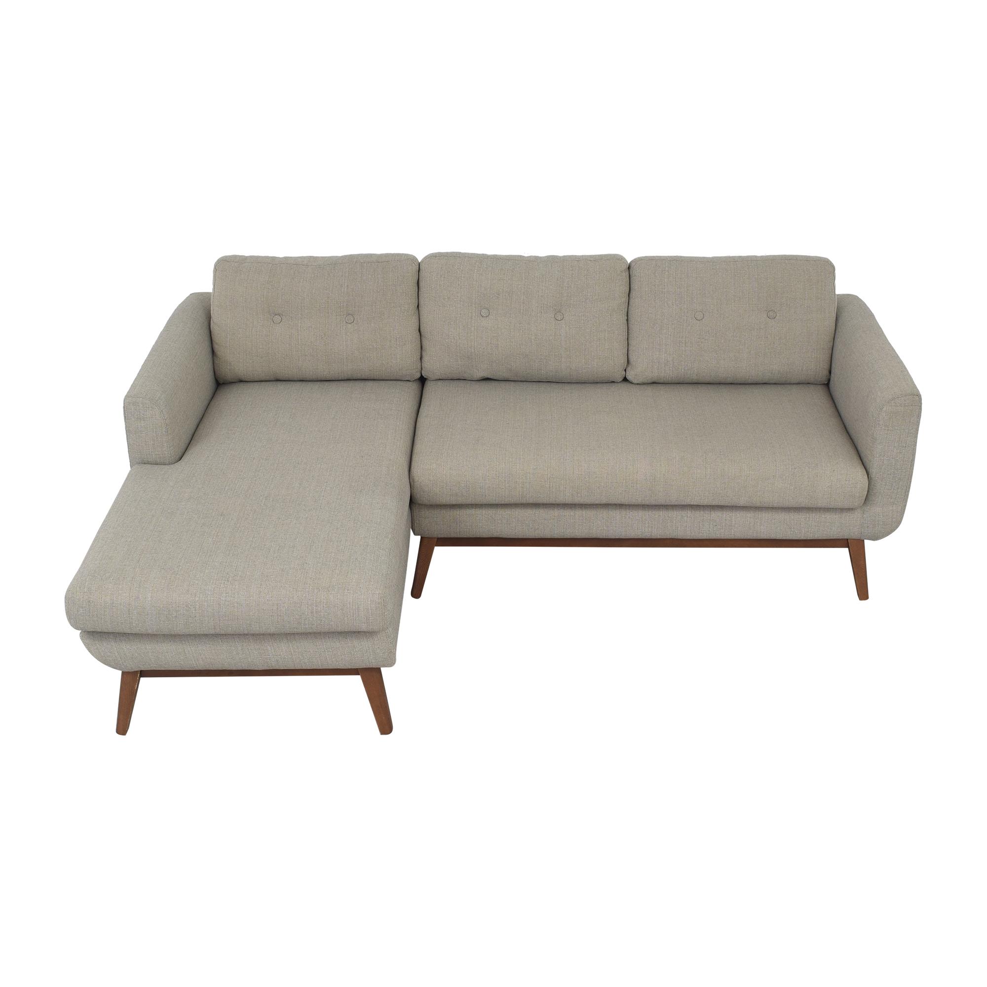 buy AllModern Keating Sofa and Chaise Sectional AllModern Sofas