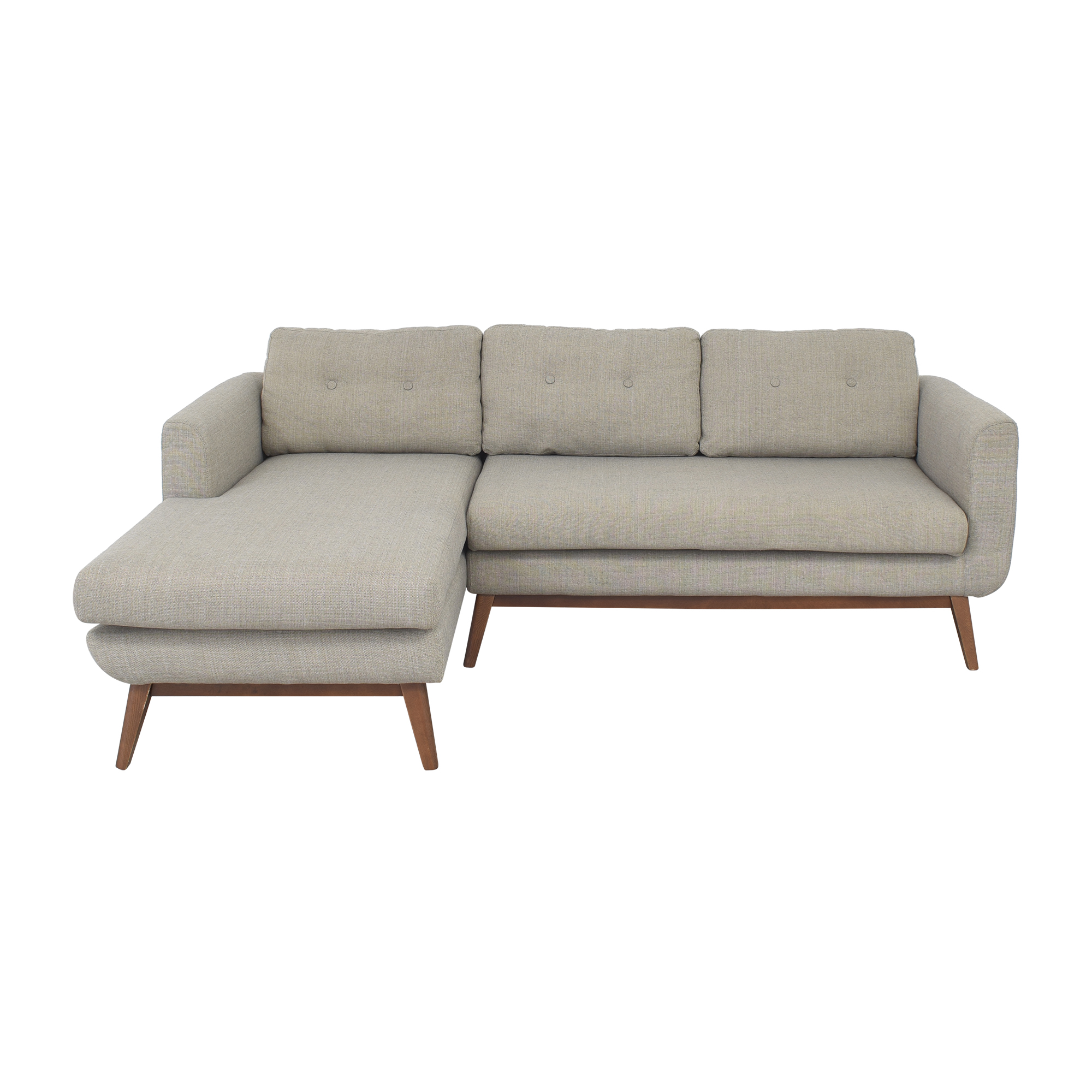 AllModern AllModern Keating Sofa and Chaise Sectional nyc