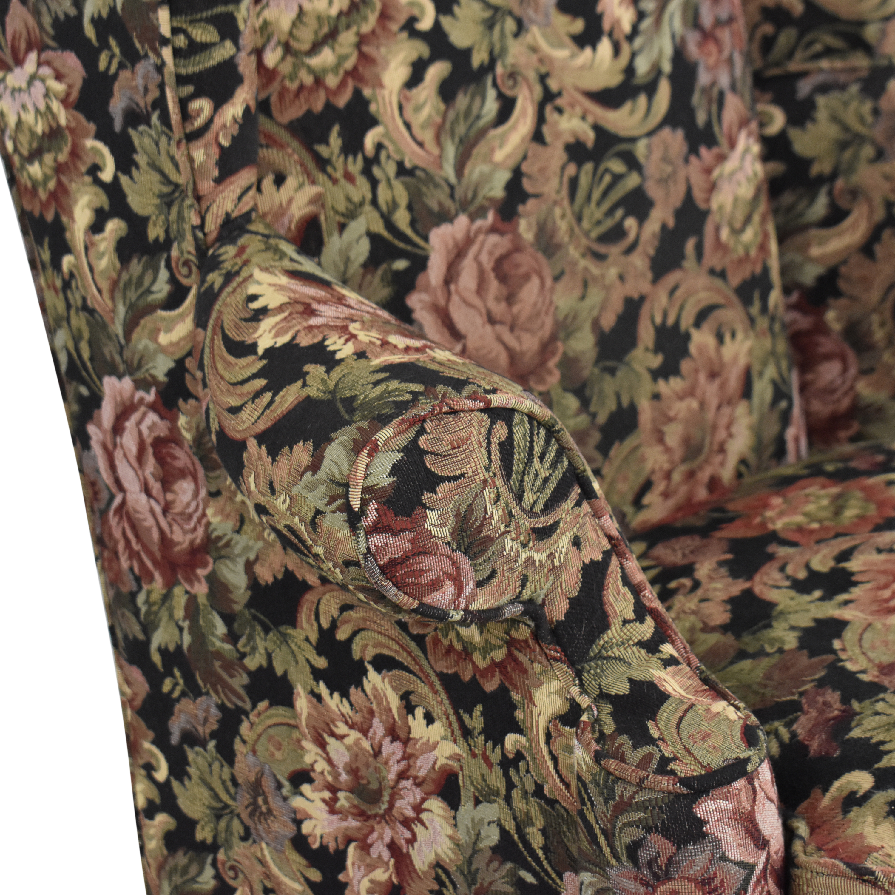 Thomasville Thomasville Queen Anne Wing Back Chair discount