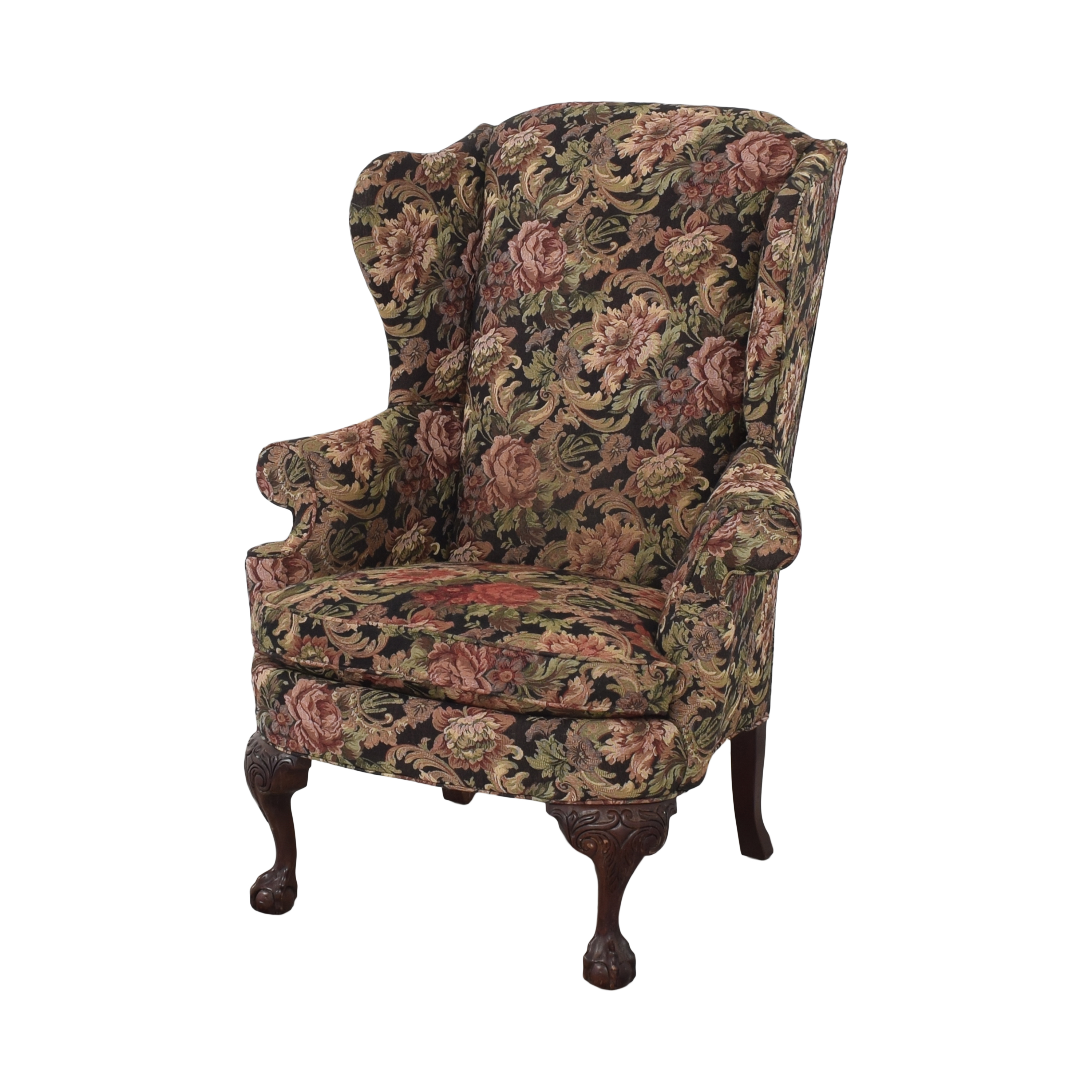 Thomasville Thomasville Queen Anne Wing Back Chair second hand