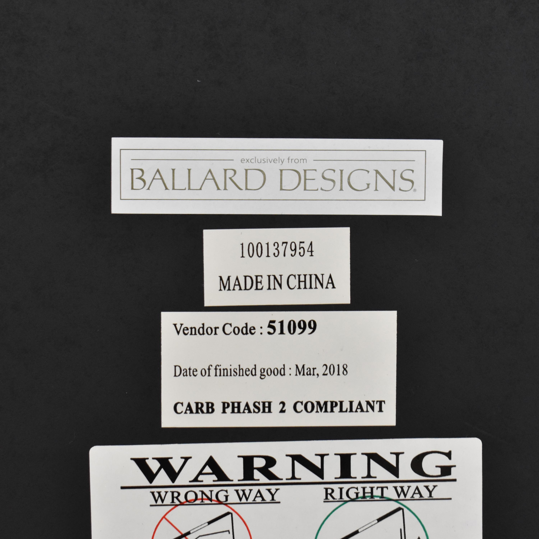 Ballard Designs Ballard Designs Grand Palais Rectangle Mirror black