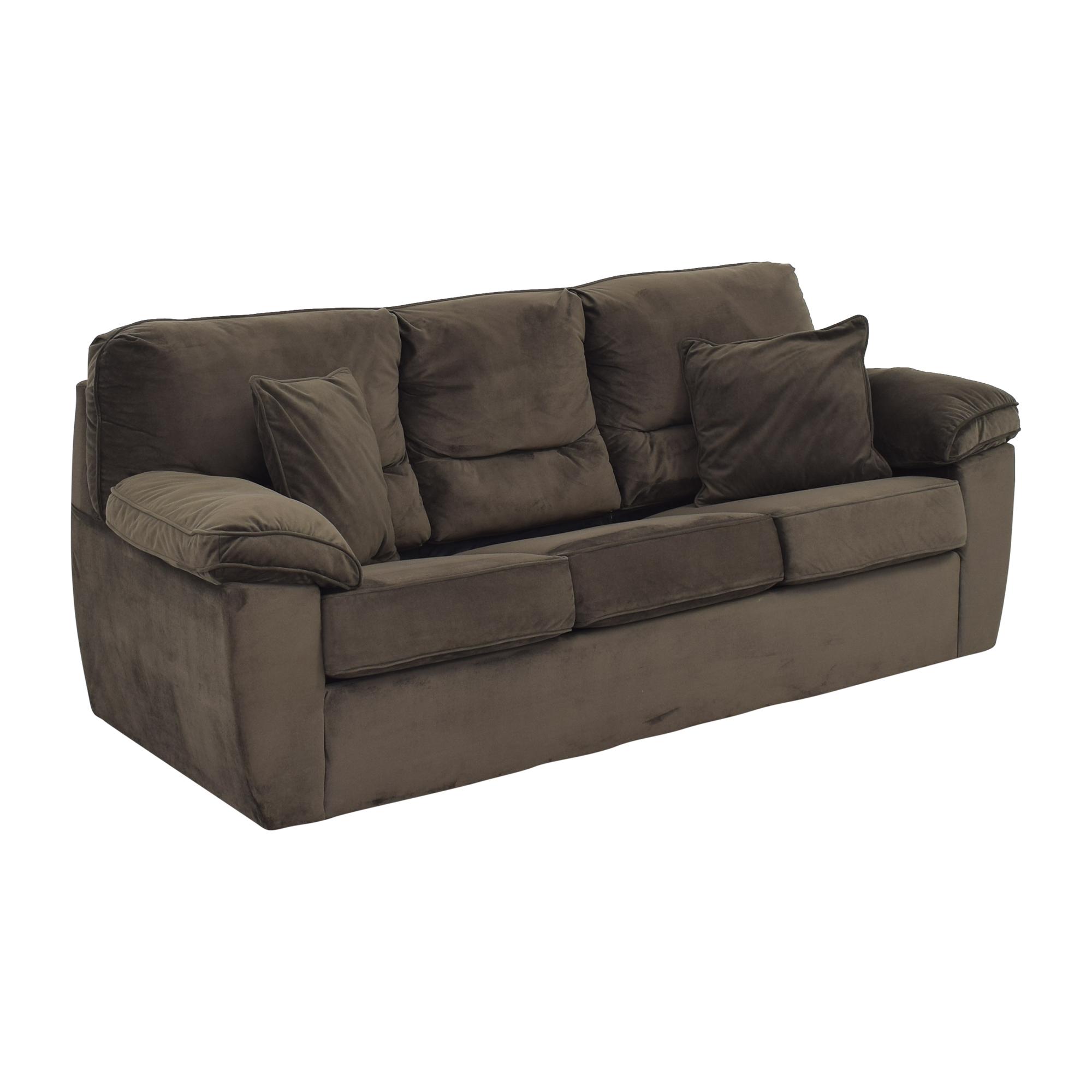 Raymour & Flanigan Raymour & Flanigan Rockport Queen Sleeper Sofa