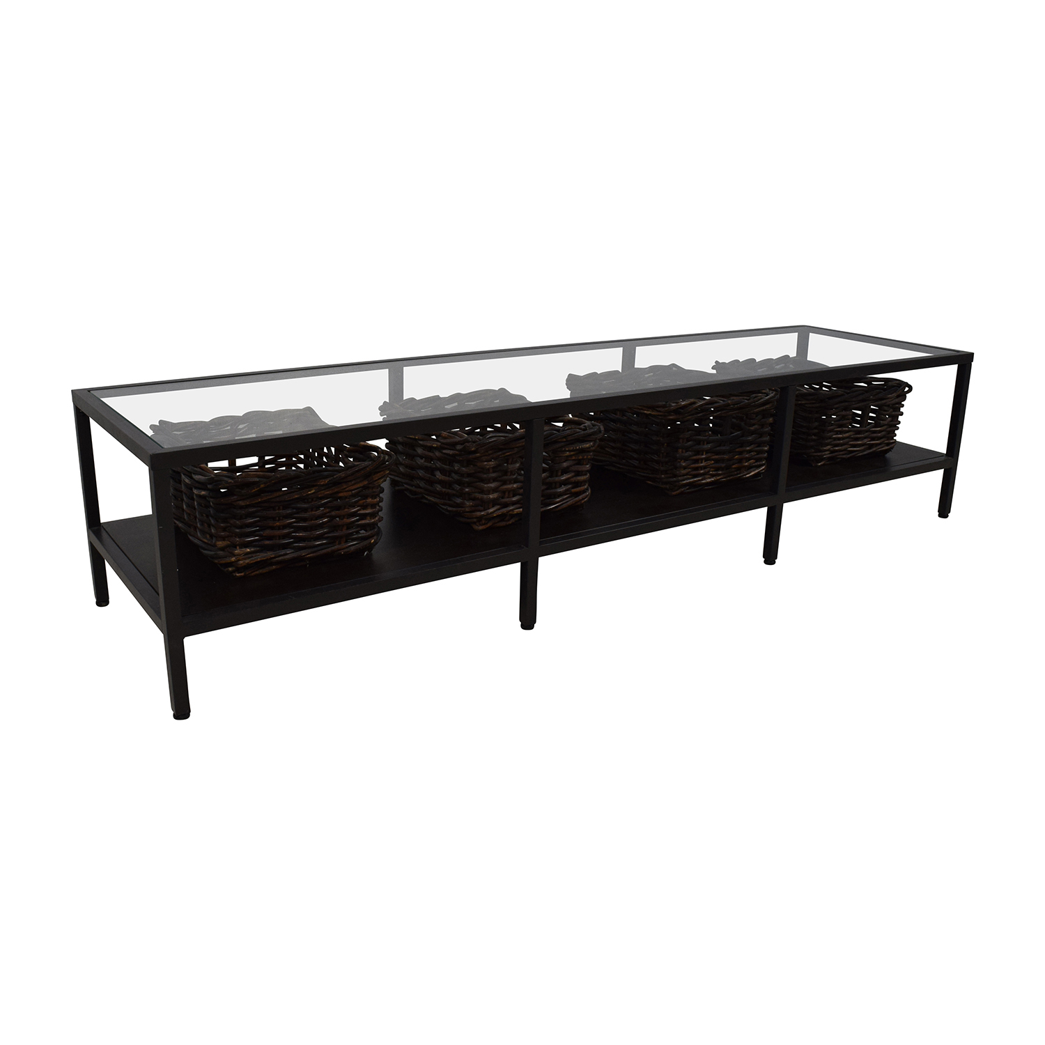 tv stand ikea black. ikea modern low glass tv stand with wicker storage bins used tv ikea black