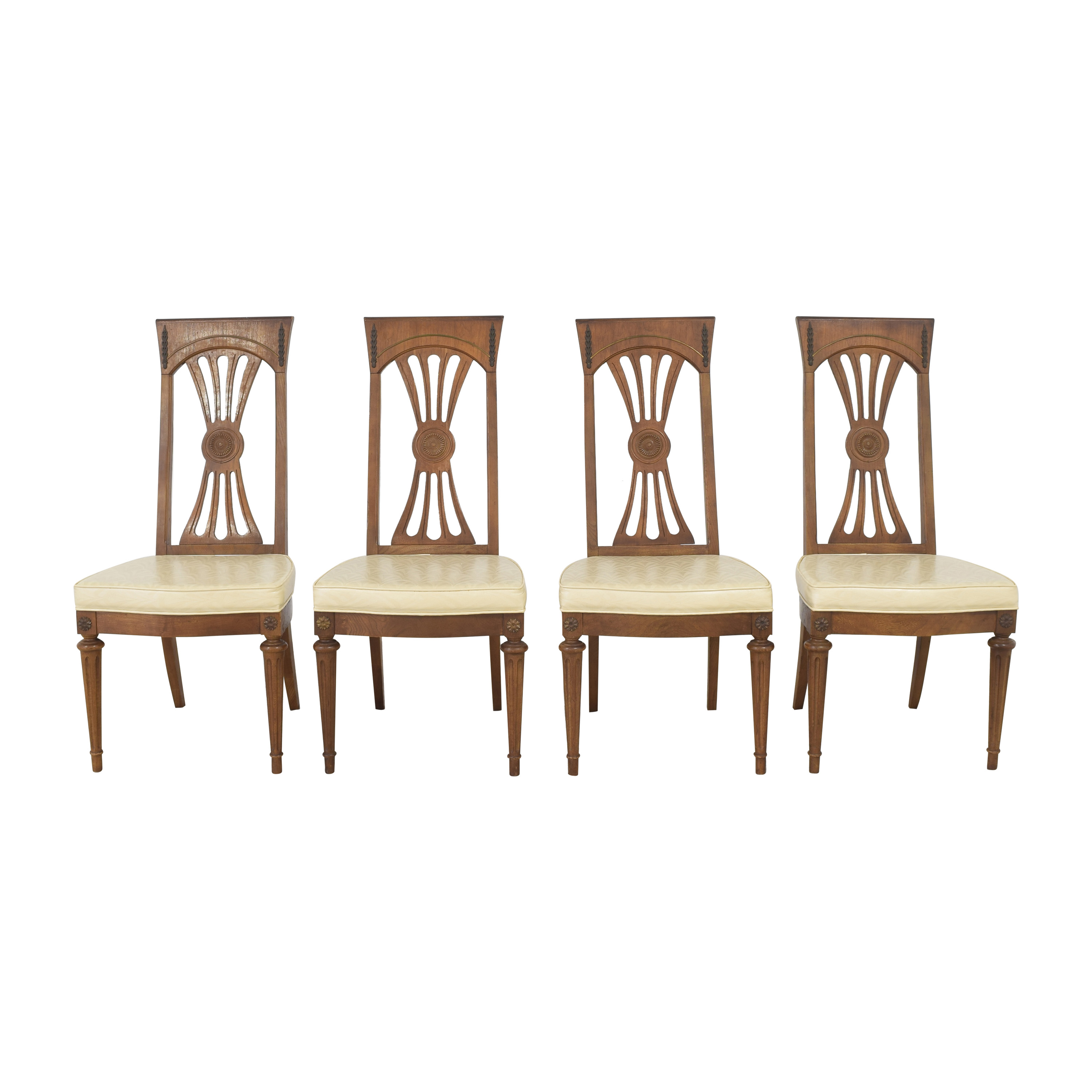 Carved Back Dining Chairs on sale