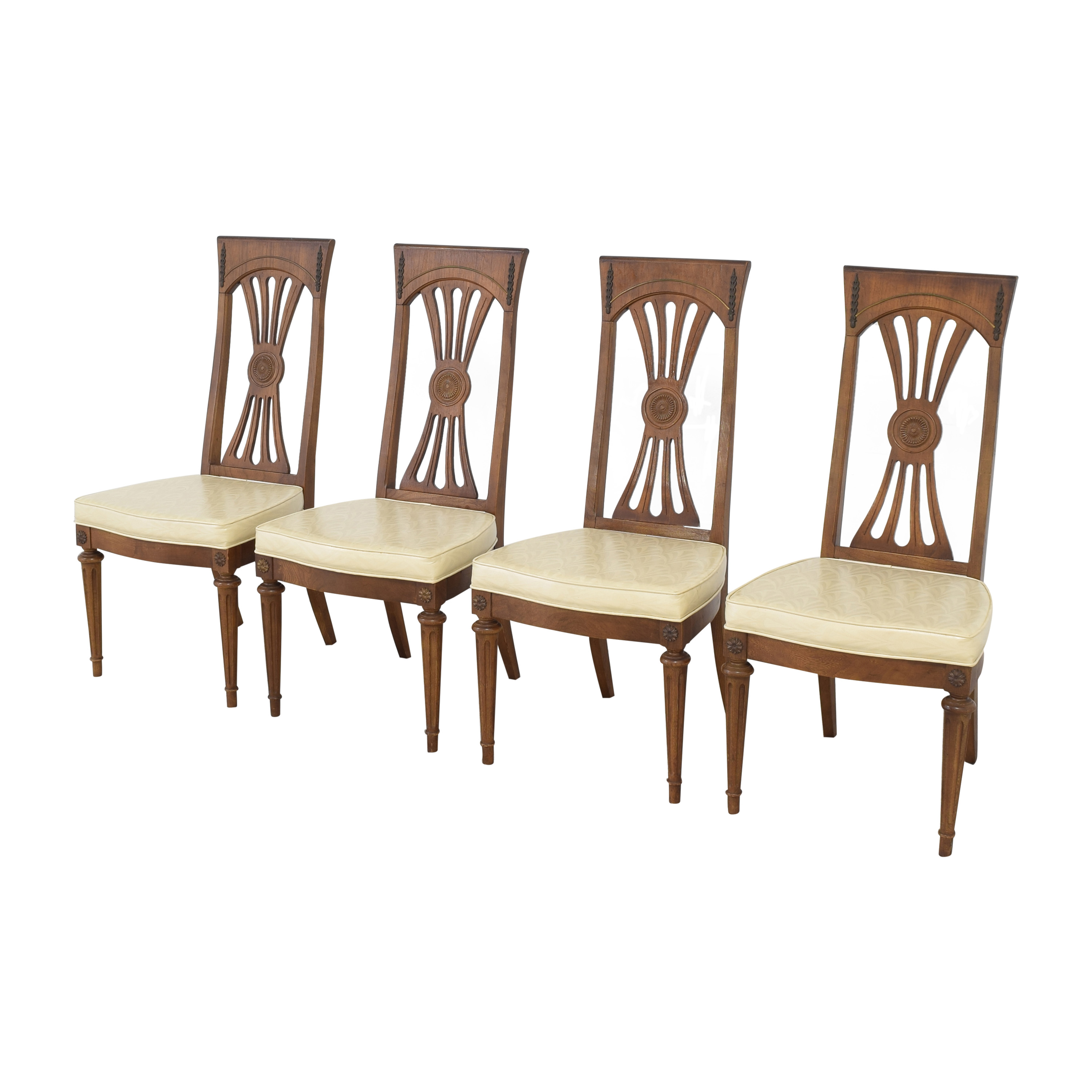 buy Carved Back Dining Chairs  Dining Chairs