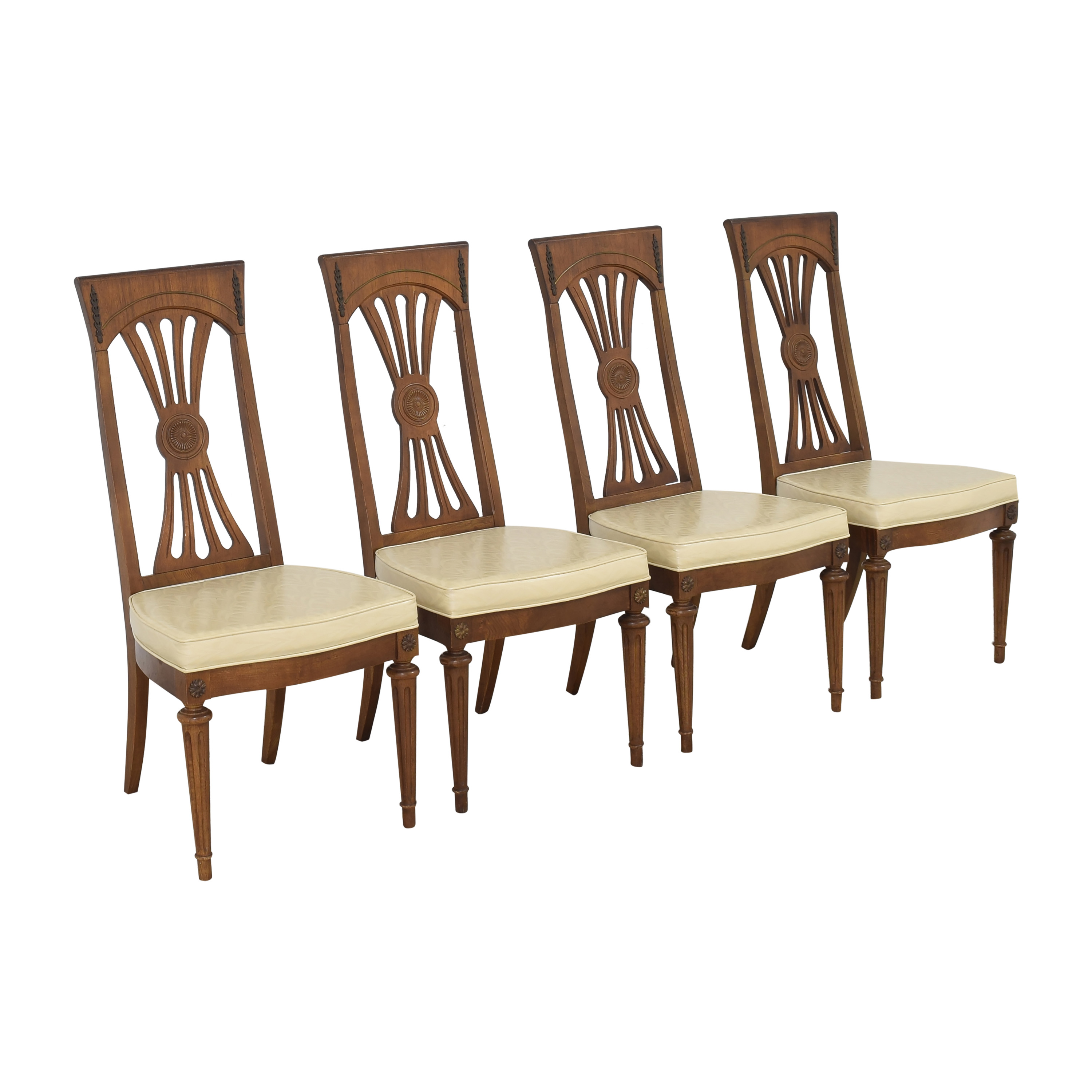 Carved Back Dining Chairs price