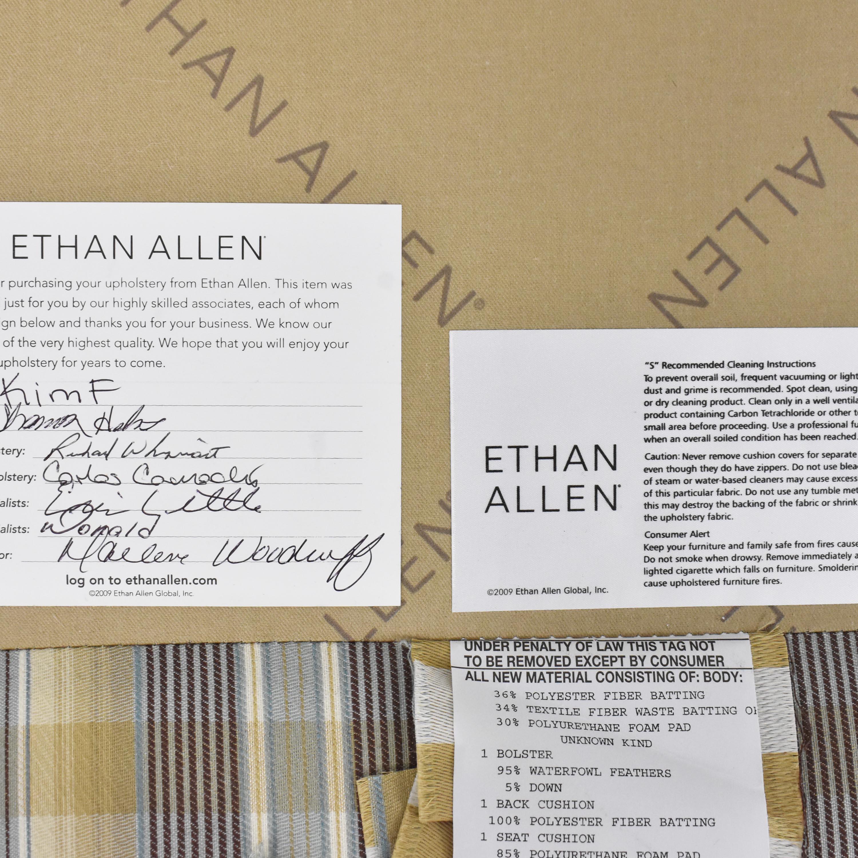 Ethan Allen Ethan Allen Chaise Sectional Sofa discount