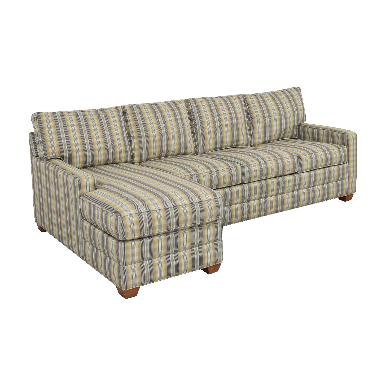 Ethan Allen Ethan Allen Chaise Sectional Sofa on sale