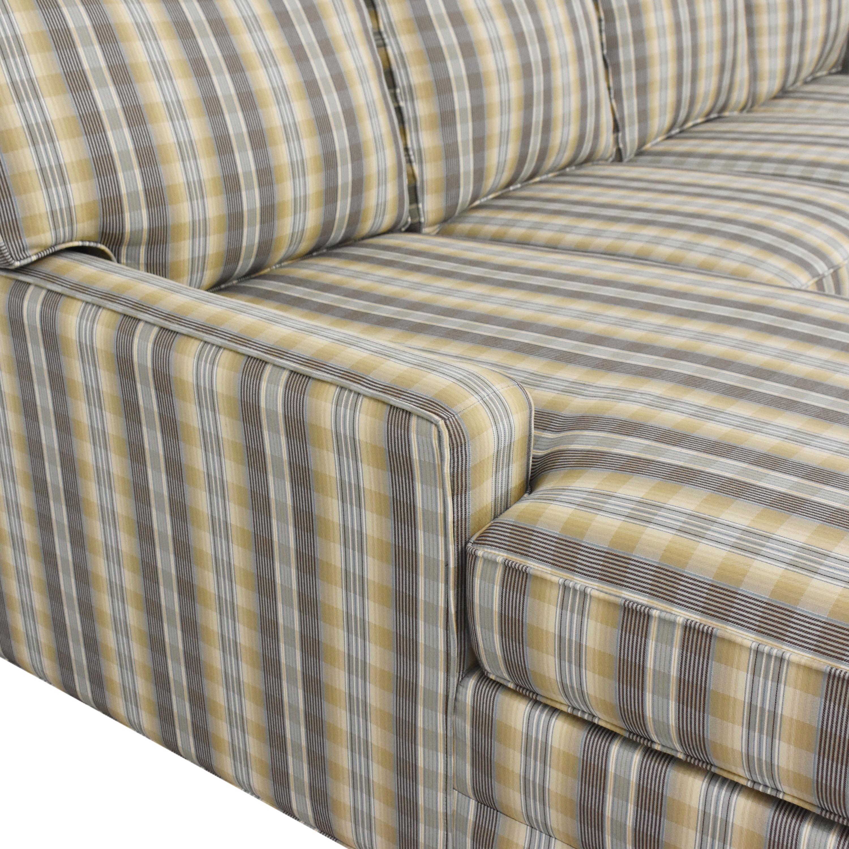 Ethan Allen Chaise Sectional Sofa Ethan Allen