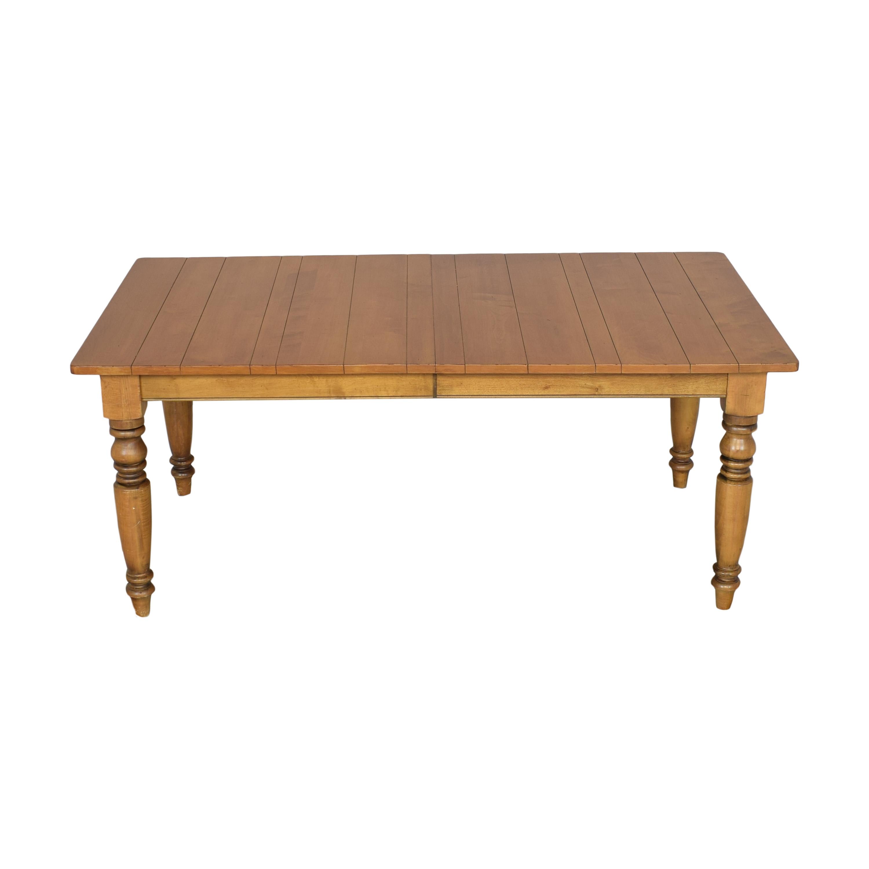 buy Ethan Allen Ethan Allen Large Miller Farmhouse Table online