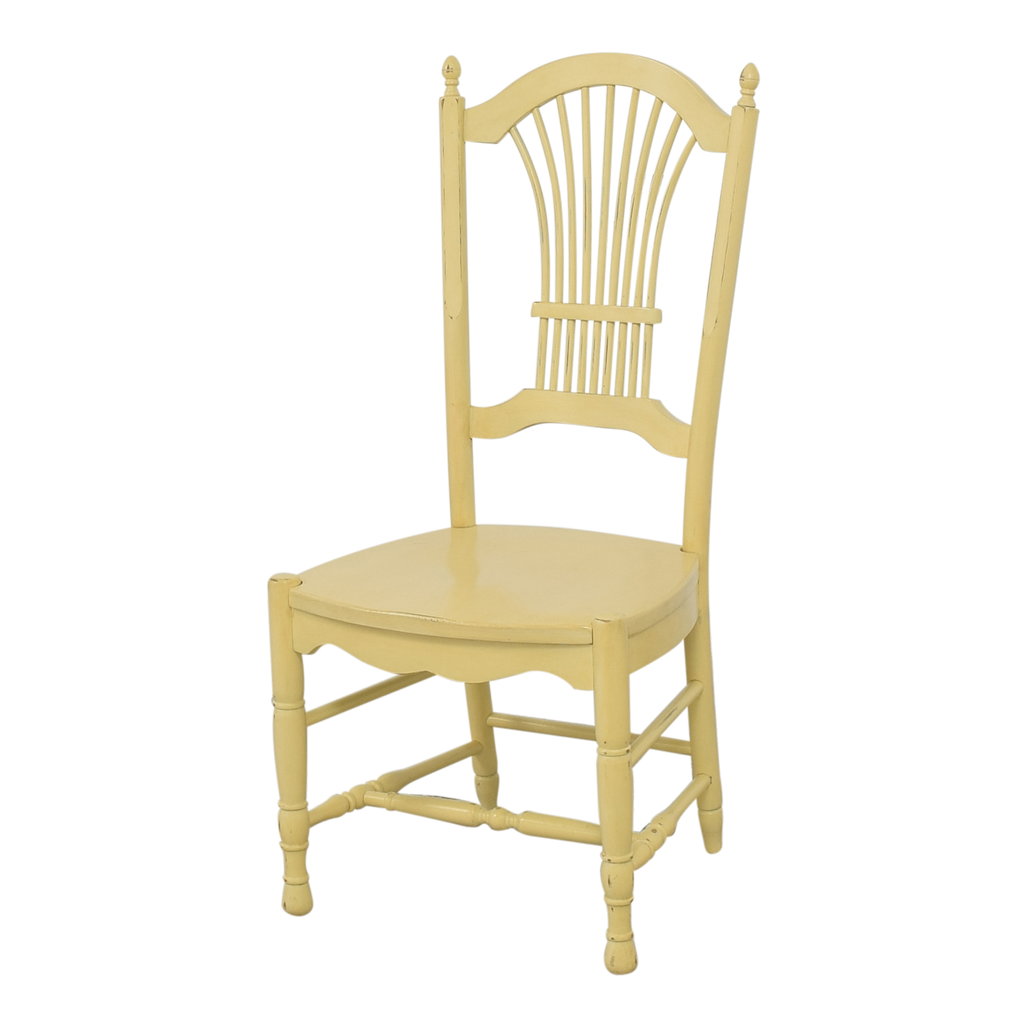 Ethan Allen Ethan Allen Wheat Back Dining Chairs nj