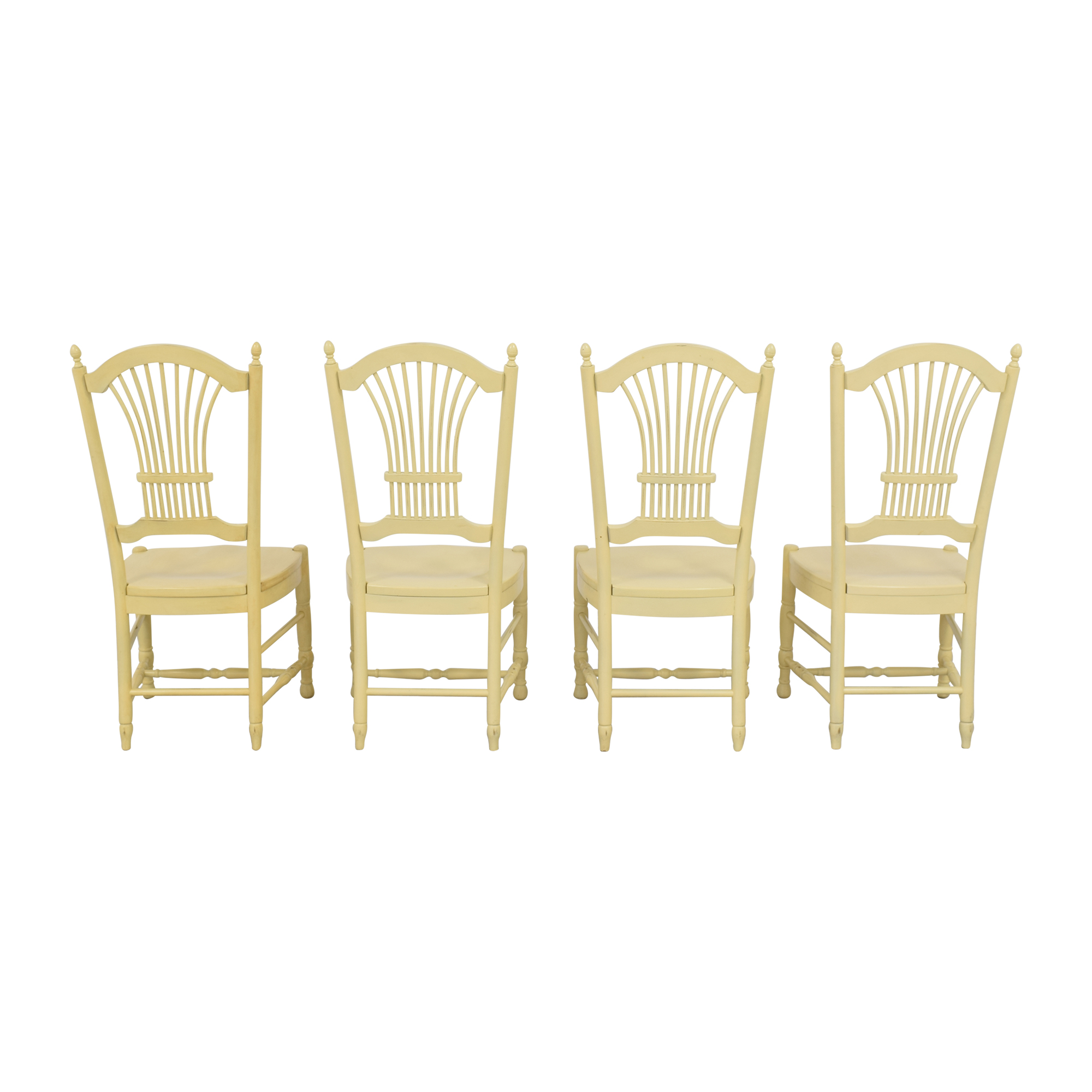 Ethan Allen Ethan Allen Wheat Back Dining Chairs Chairs