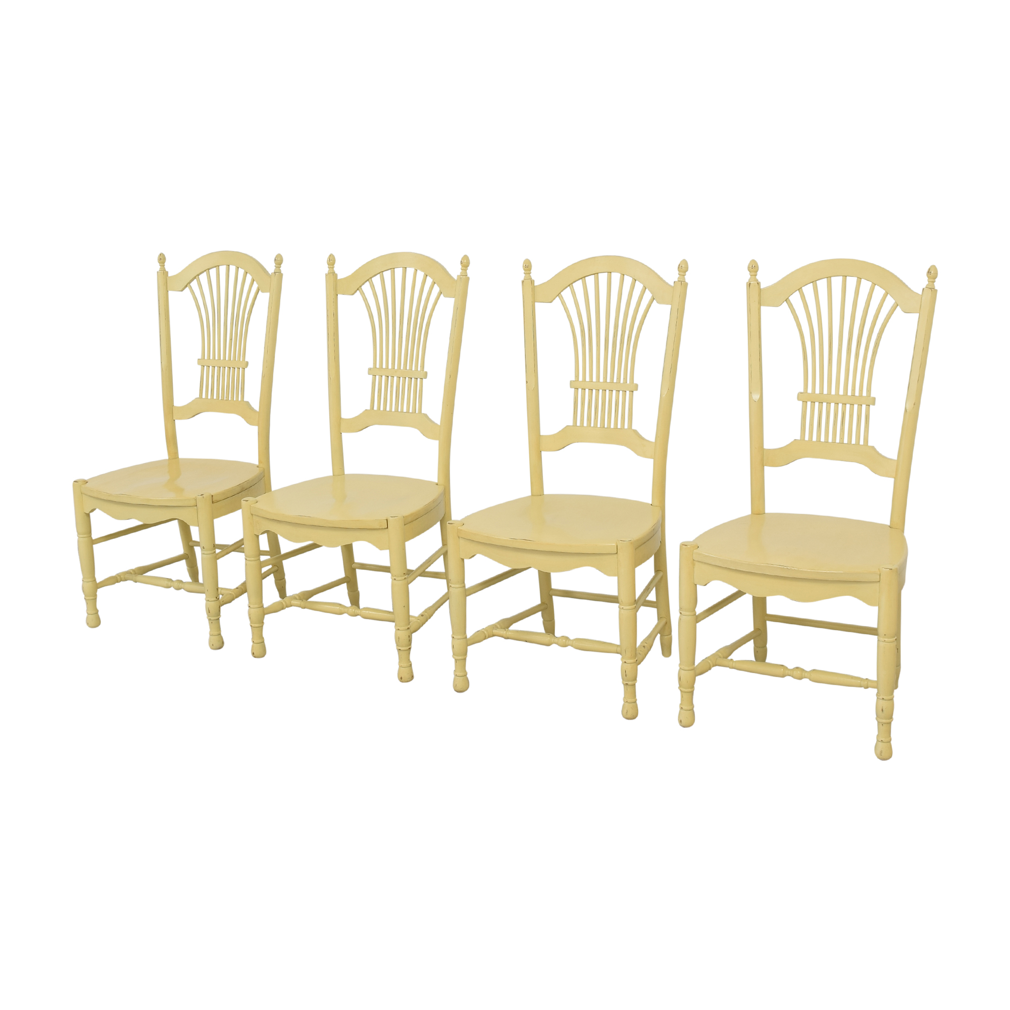 Ethan Allen Ethan Allen Wheat Back Dining Chairs nyc