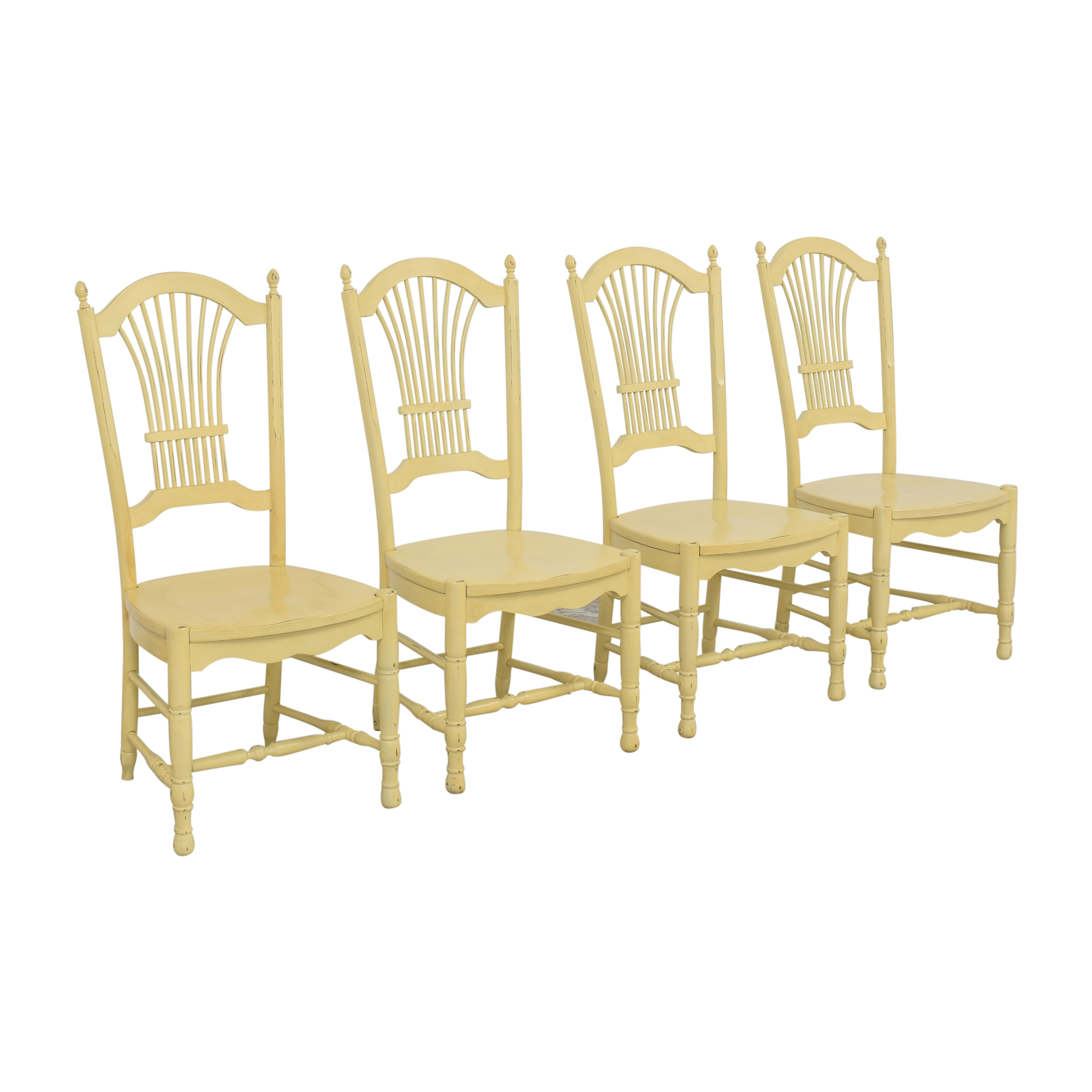 Ethan Allen Ethan Allen Wheat Back Dining Chairs coupon