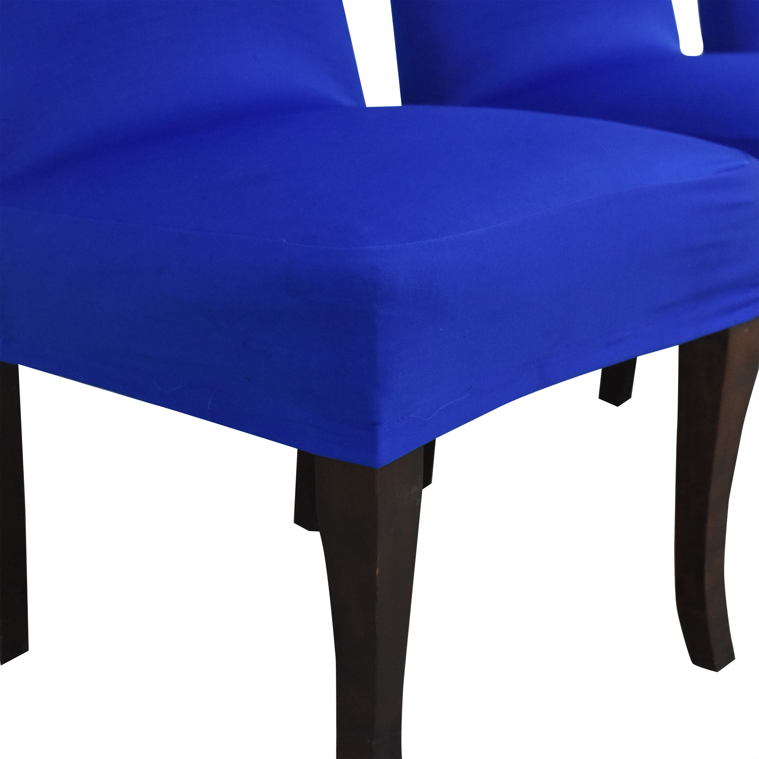 Ballard Designs Slipcovered Couture Chairs / Dining Chairs