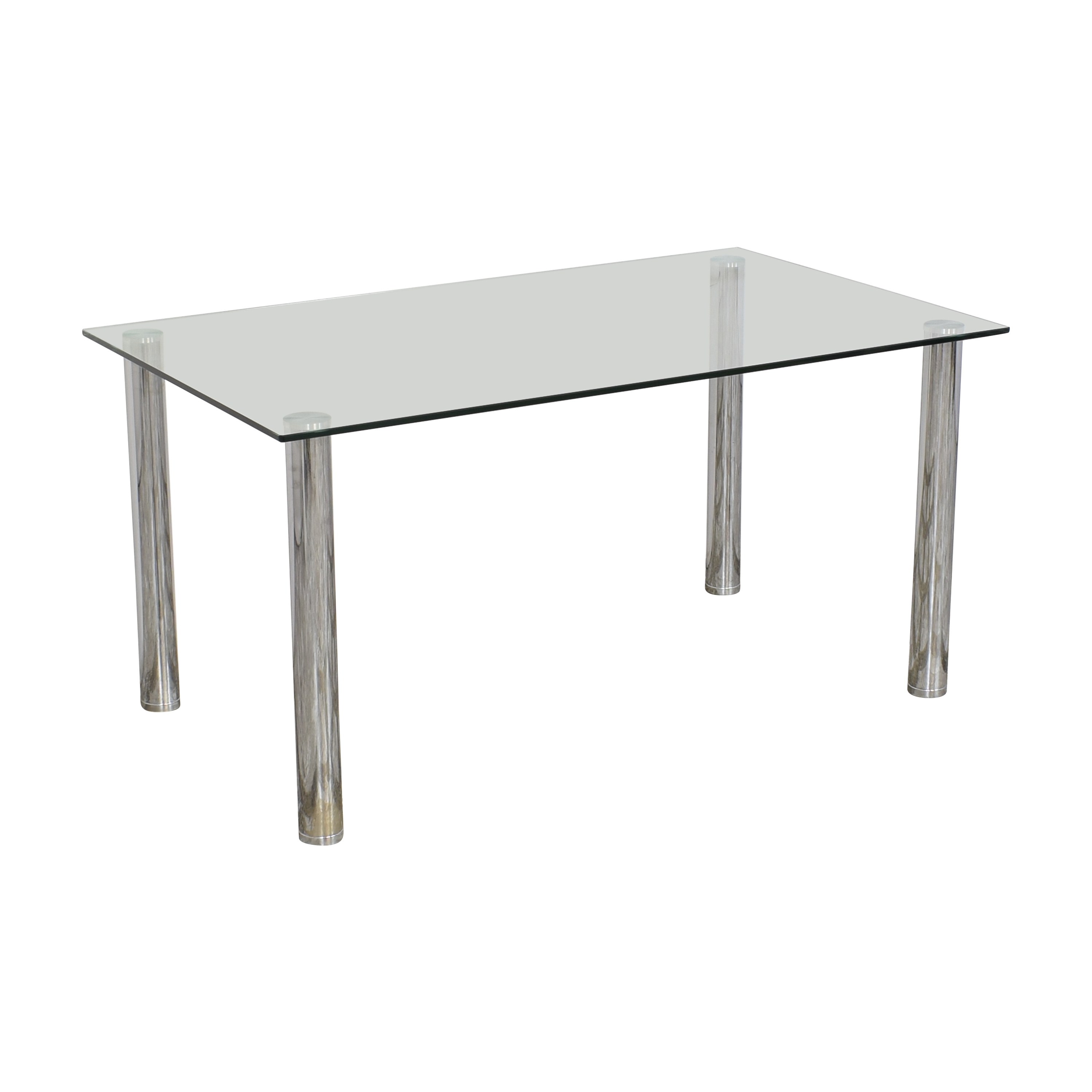 Glass Top Dining Table / Dinner Tables