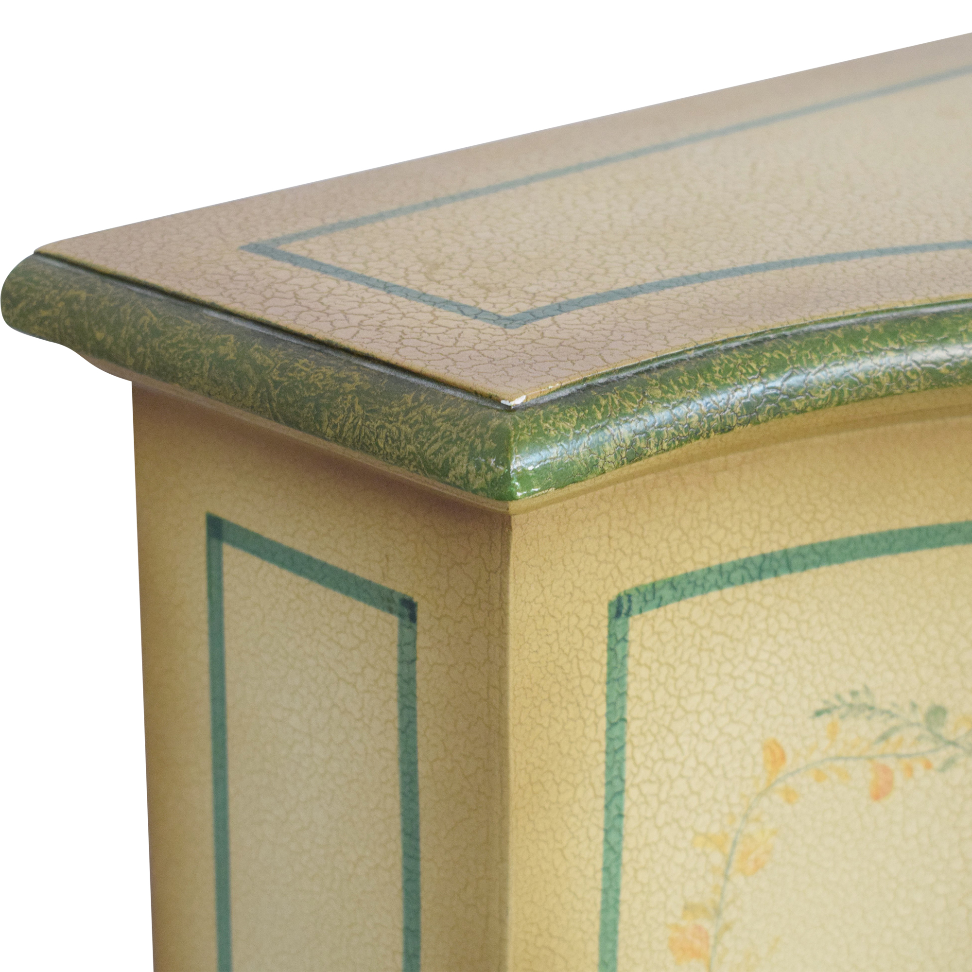 Vintage Painted Sideboard Credenza sale