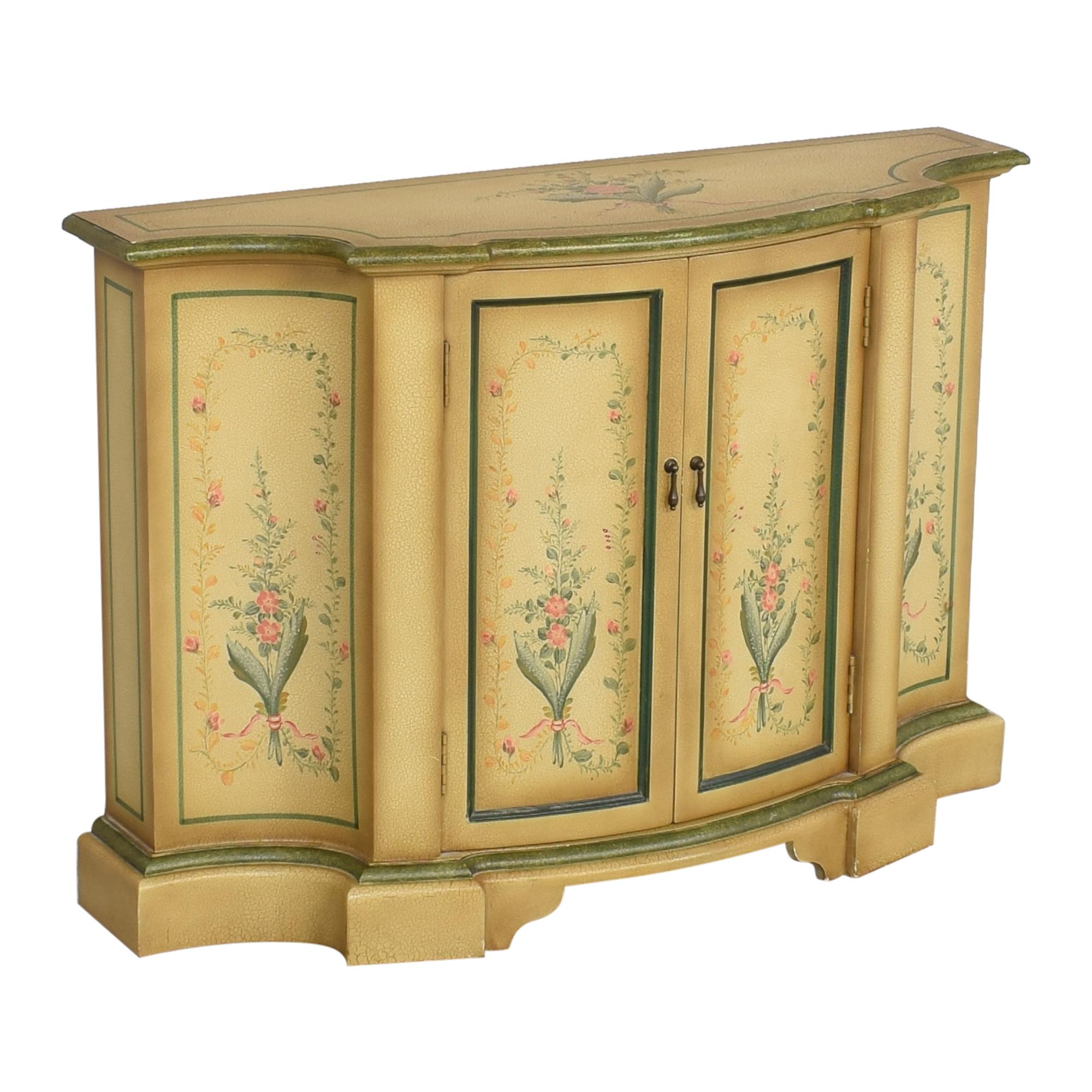 Vintage Painted Sideboard Credenza / Cabinets & Sideboards