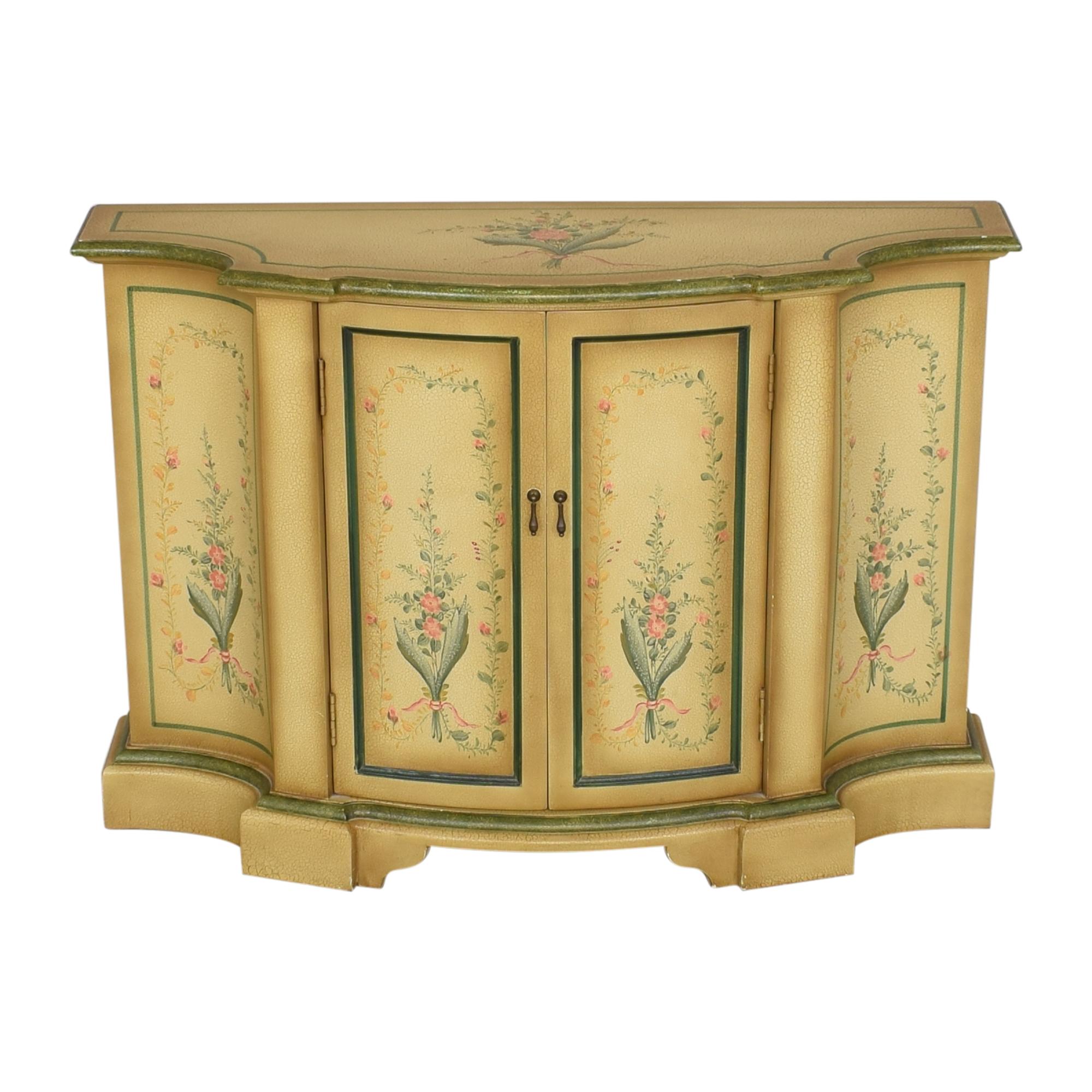Vintage Painted Sideboard Credenza for sale