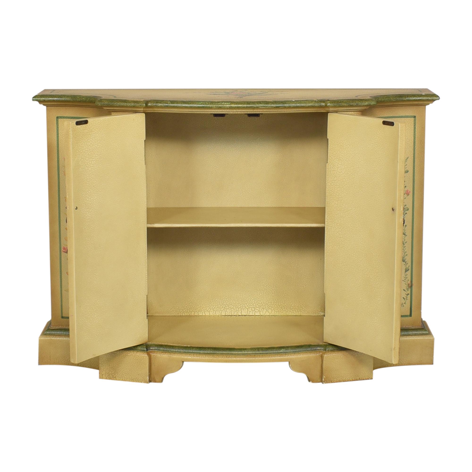 shop Vintage Painted Sideboard Credenza  Cabinets & Sideboards