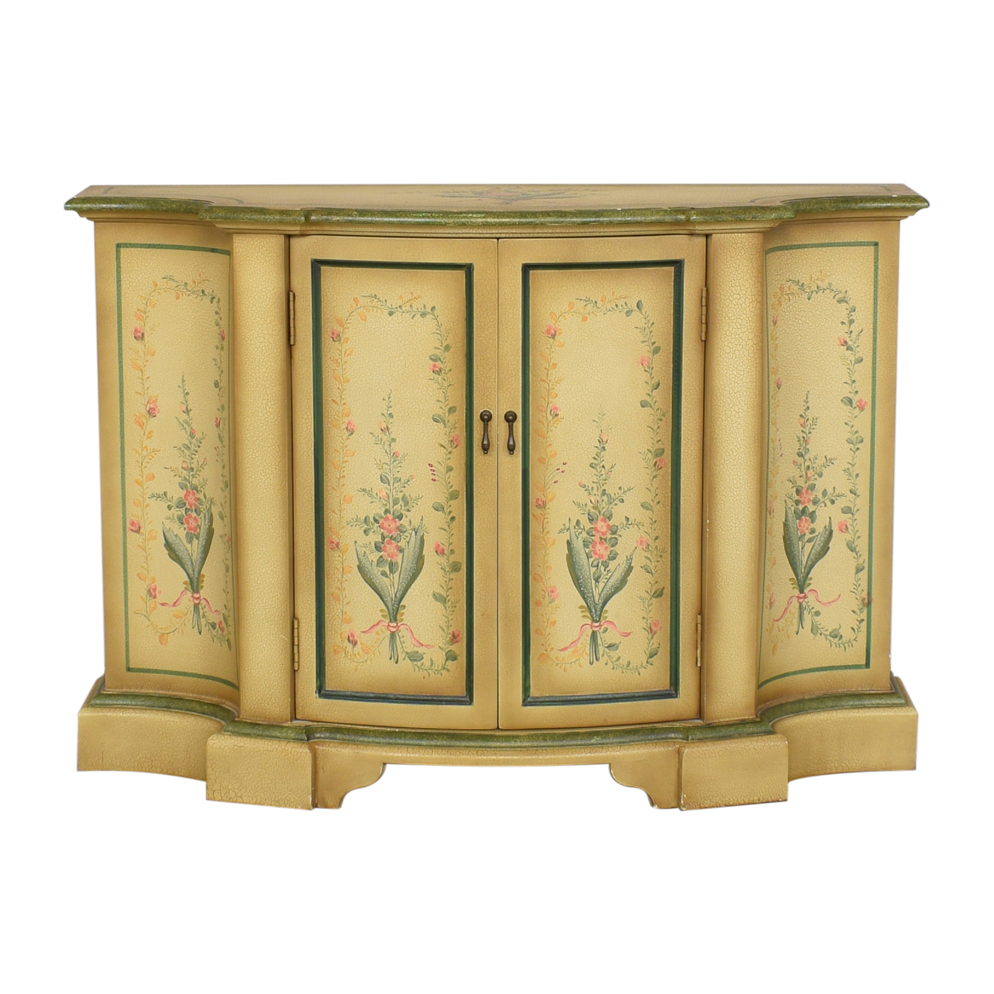 buy Vintage Painted Sideboard Credenza  Cabinets & Sideboards