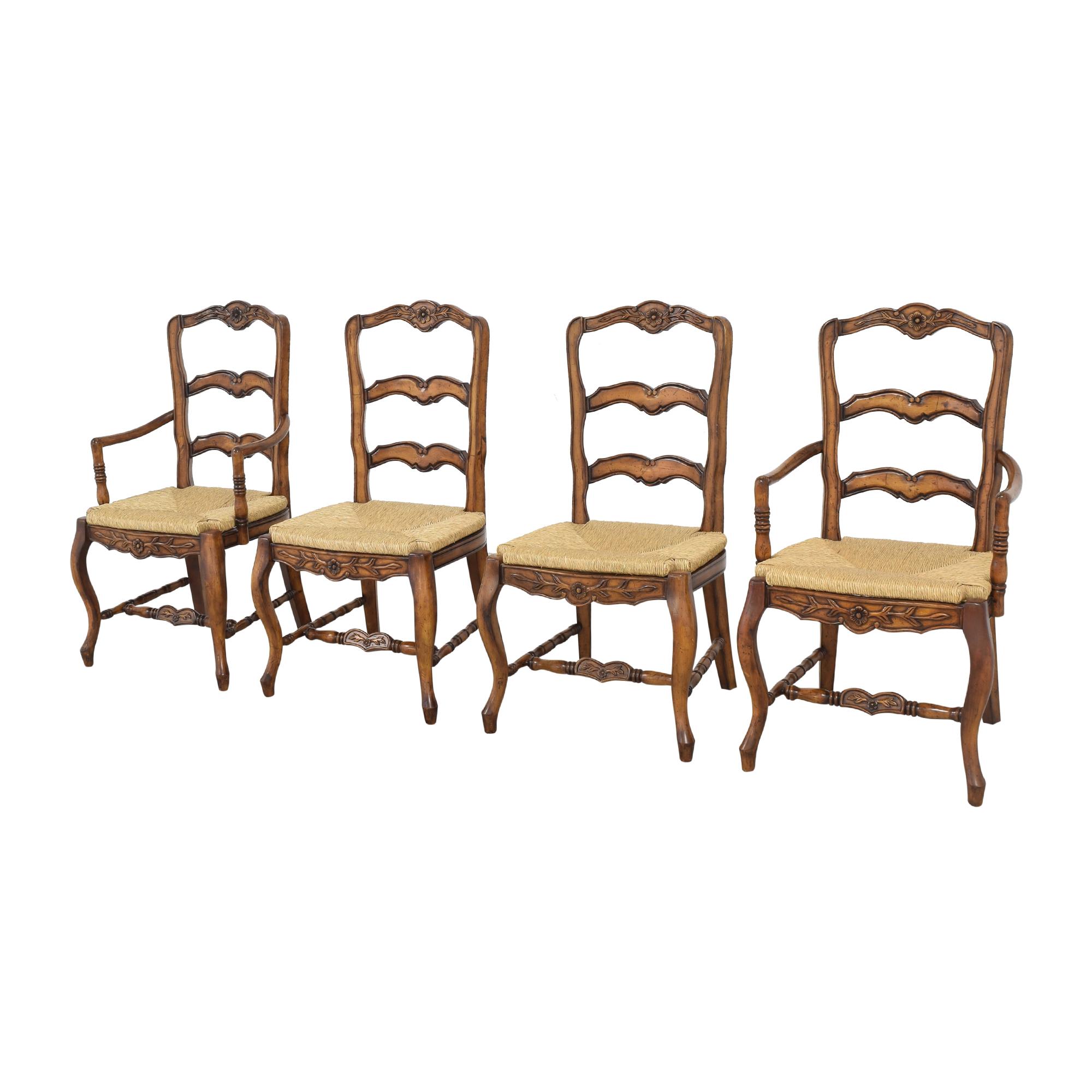 shop Artistica Cane Dining Chairs Artistica
