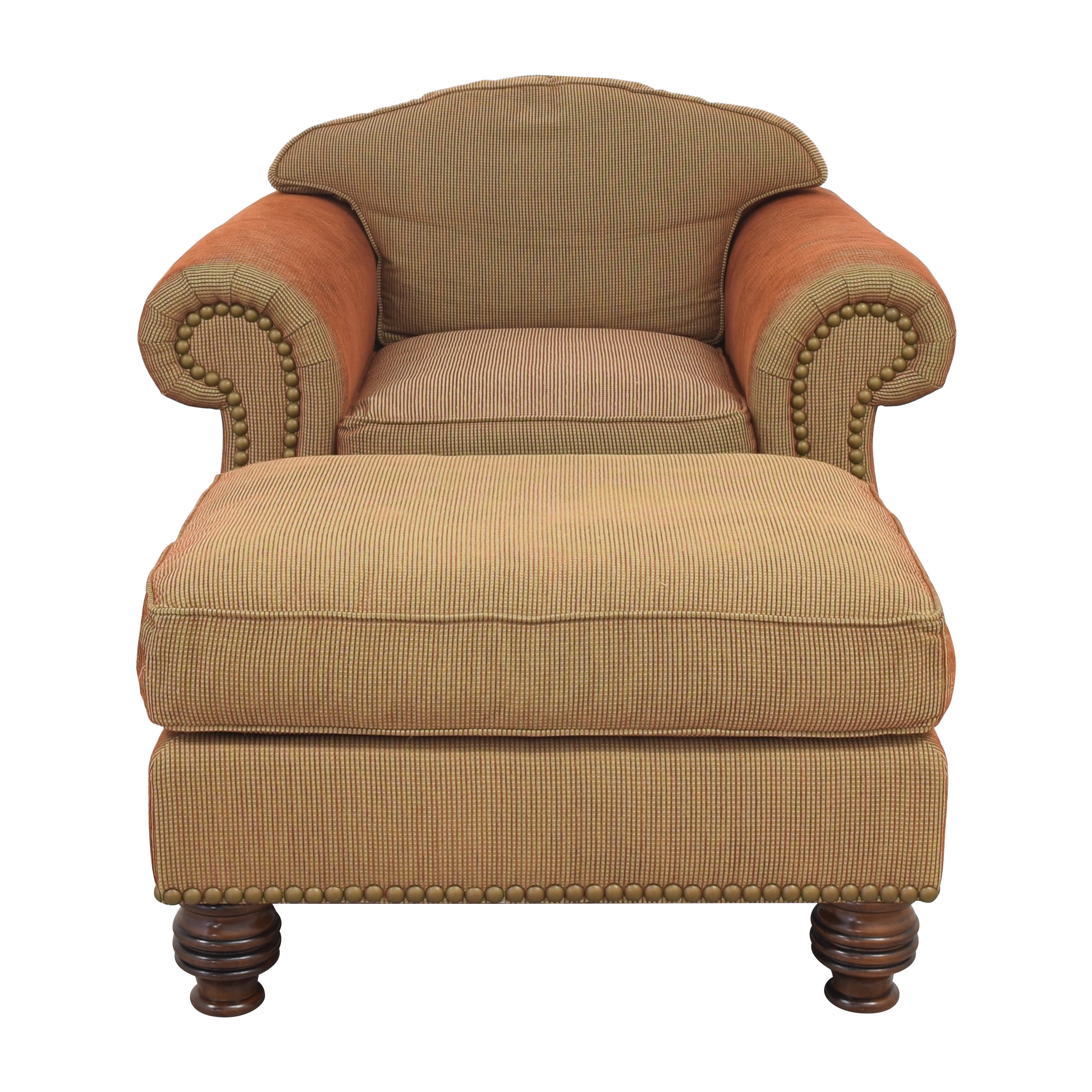 Accent Chair with Ottoman ma