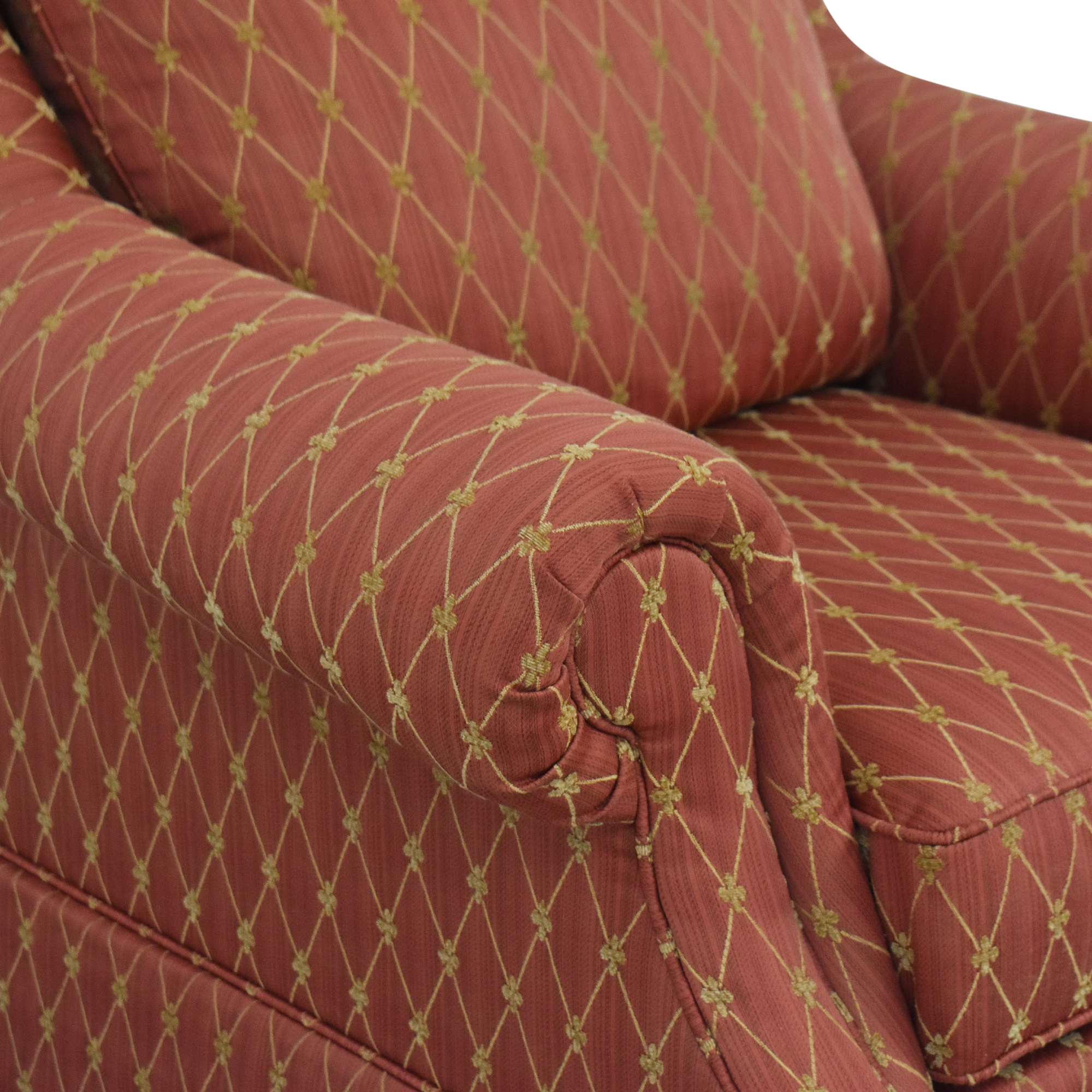 Clayton Marcus Clayton Marcus Accent Chair red