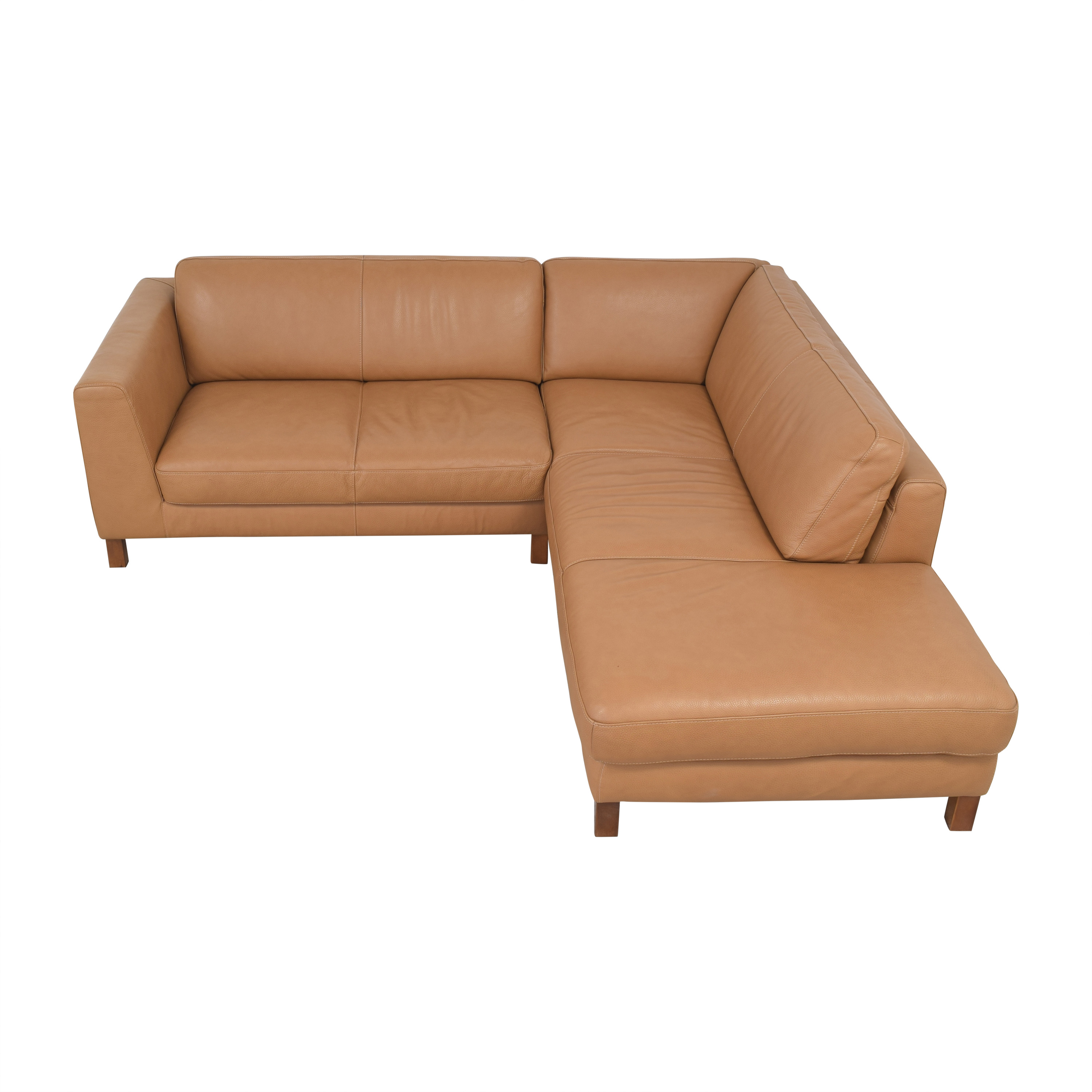 Bloomingdale's Bloomingdale's Sectional Sofa with Chaise Sectionals