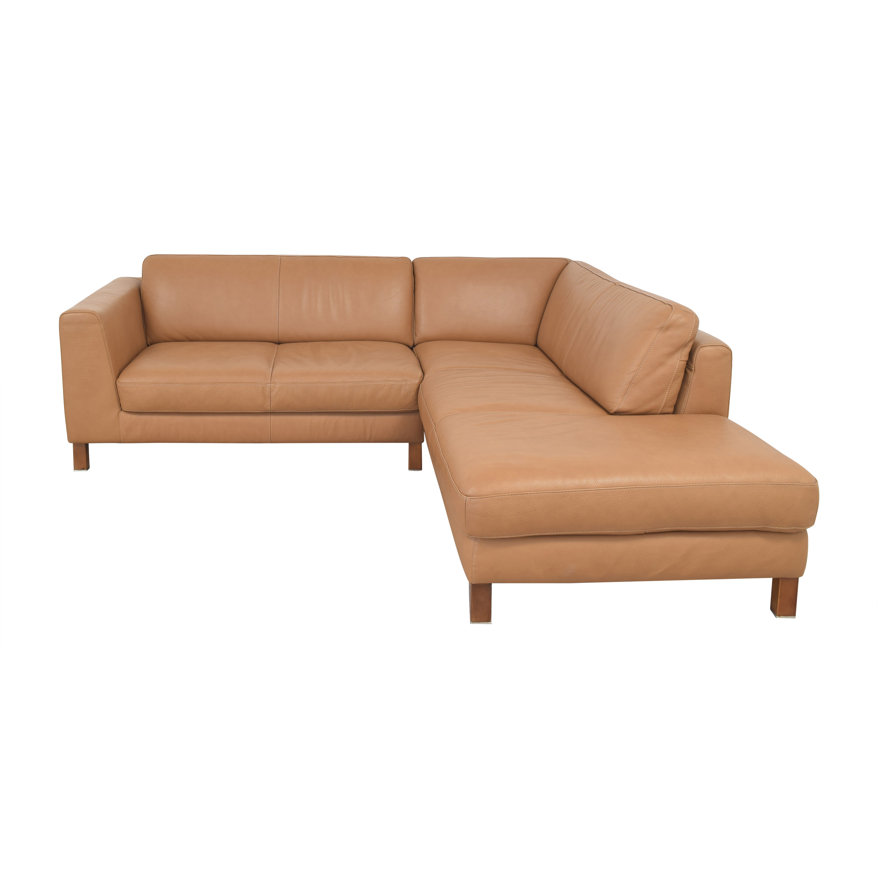 Bloomingdale's Bloomingdale's Sectional Sofa with Chaise on sale