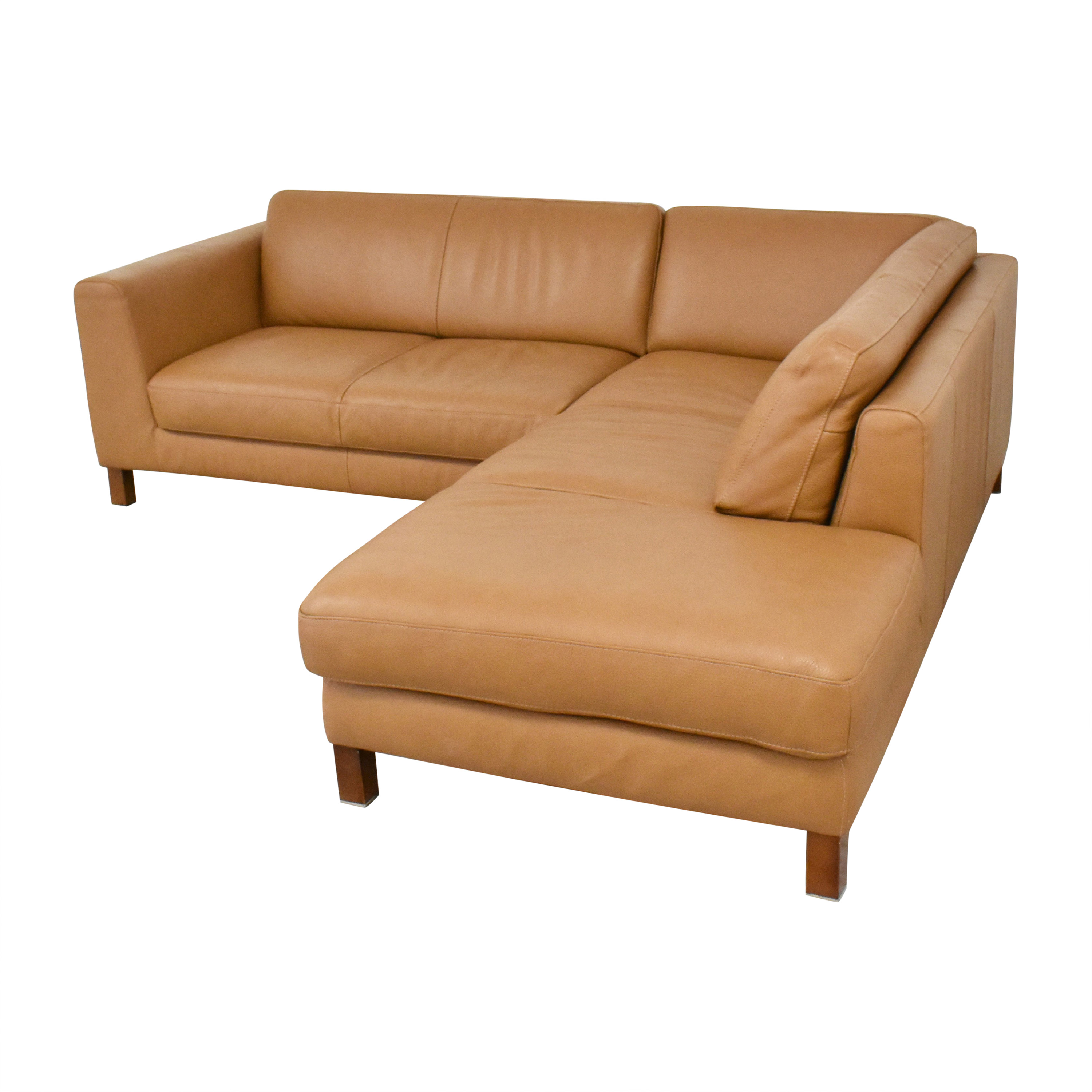 buy Bloomingdale's Sectional Sofa with Chaise Bloomingdale's Sectionals