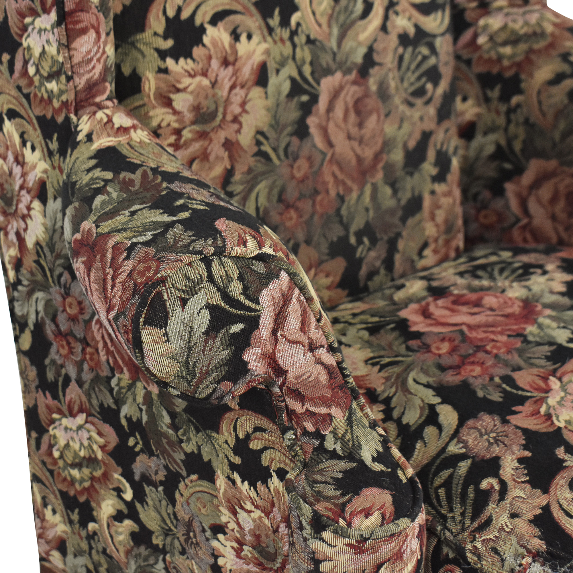 buy Thomasville Queen Anne Wing Back Chair Thomasville Accent Chairs