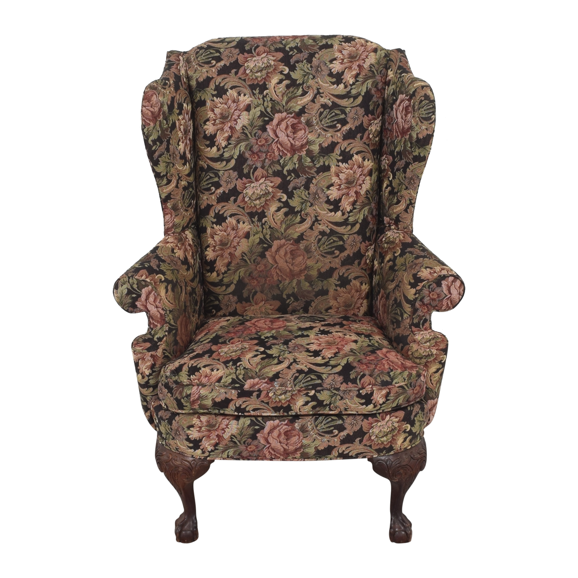 buy Thomasville Thomasville Queen Anne Wing Back Chair online