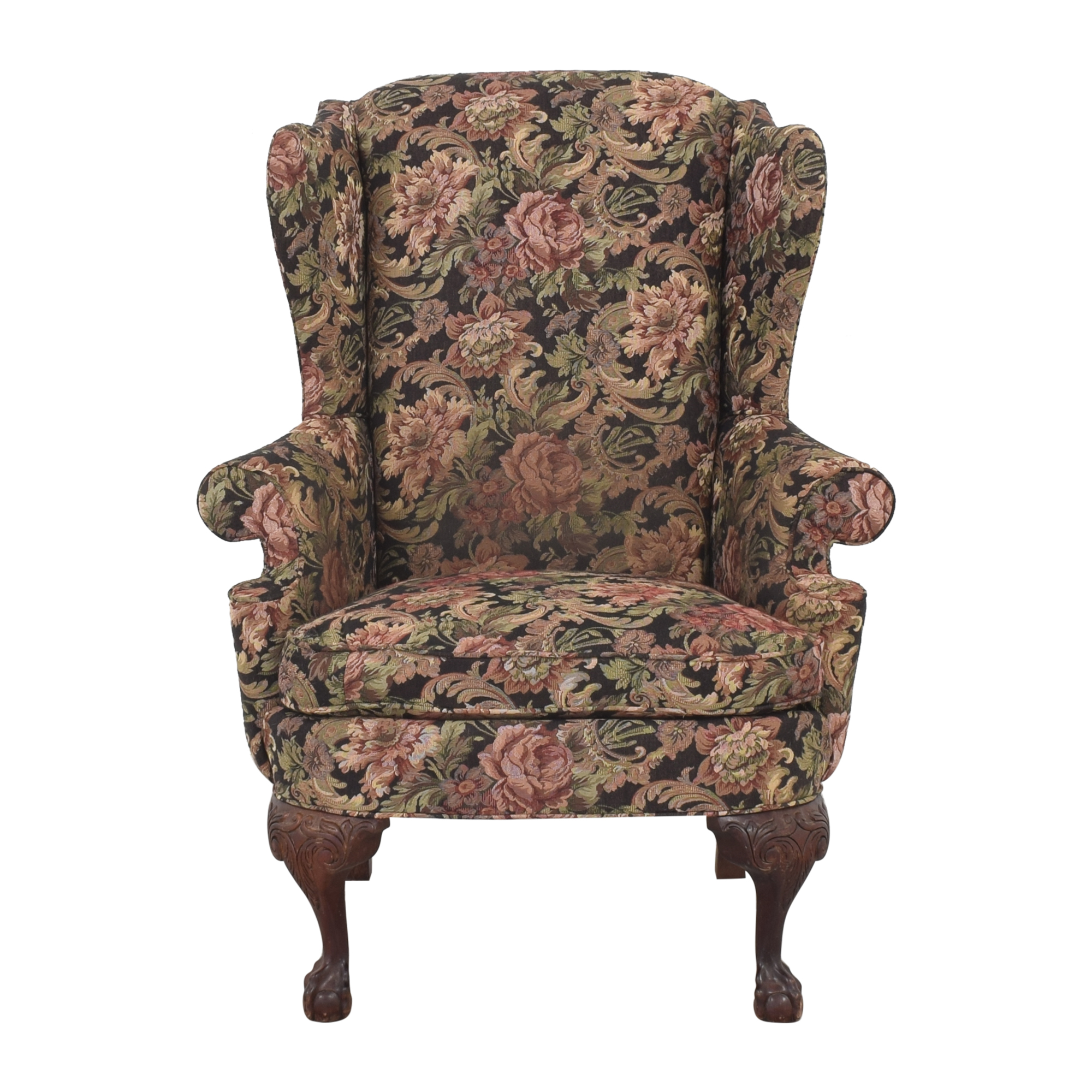 Thomasville Thomasville Queen Anne Wing Back Chair price