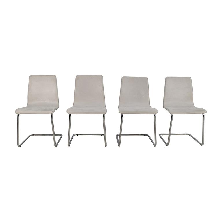 CB2 Iconic Bruer Dining Chairs CB2