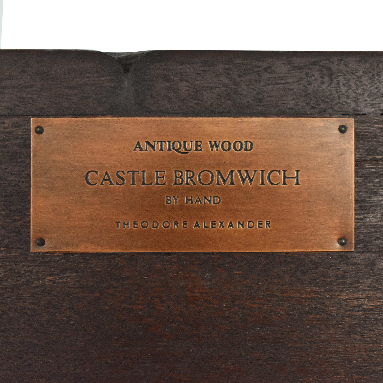 buy Theodore Alexander Theodore Alexander Castle Bromwich Mantle Mirror online