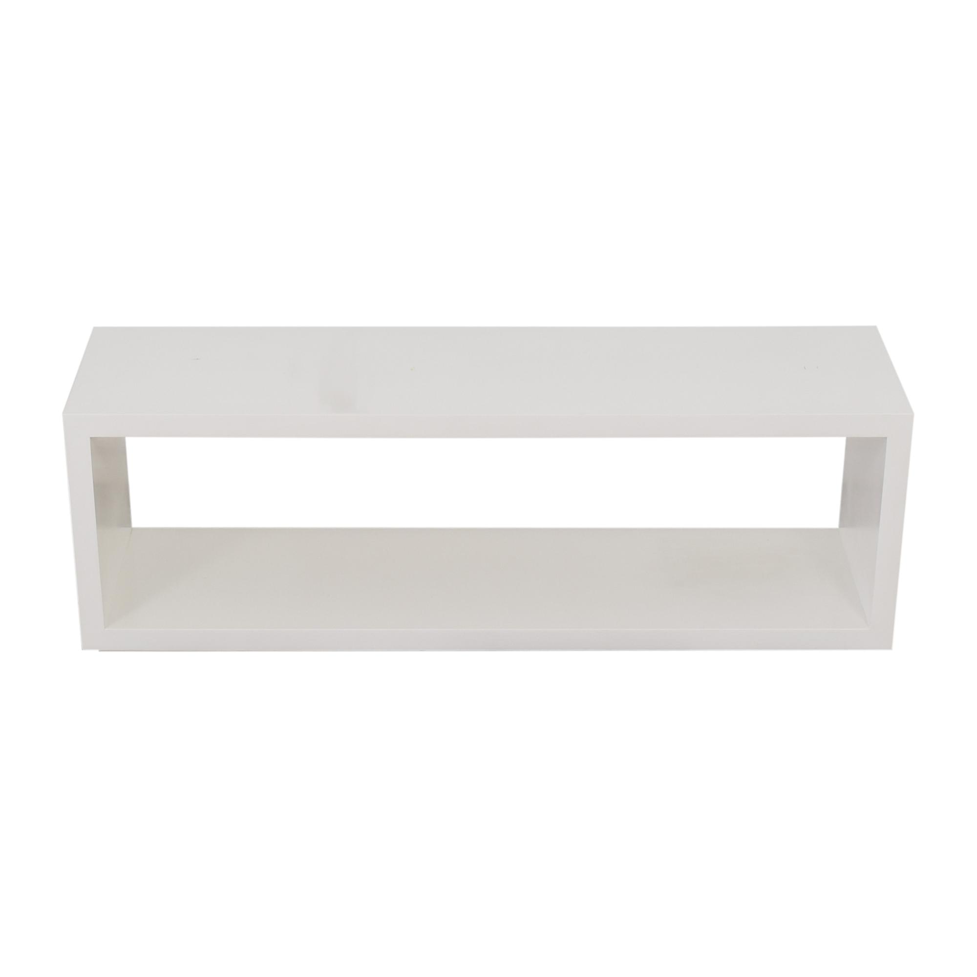 buy Crate & Barrel Aspect Modular Open Storage Unit Crate & Barrel Bookcases & Shelving