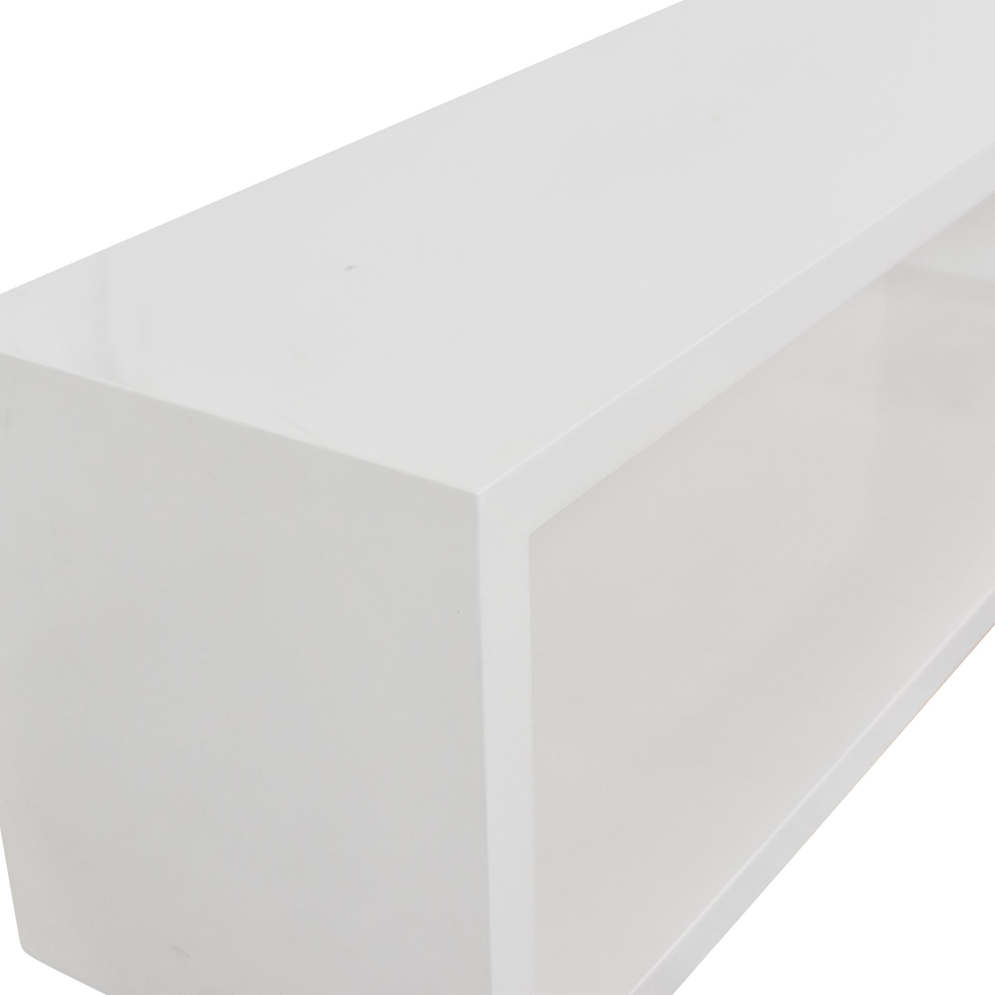 Crate & Barrel Aspect Modular Open Storage Unit / Storage
