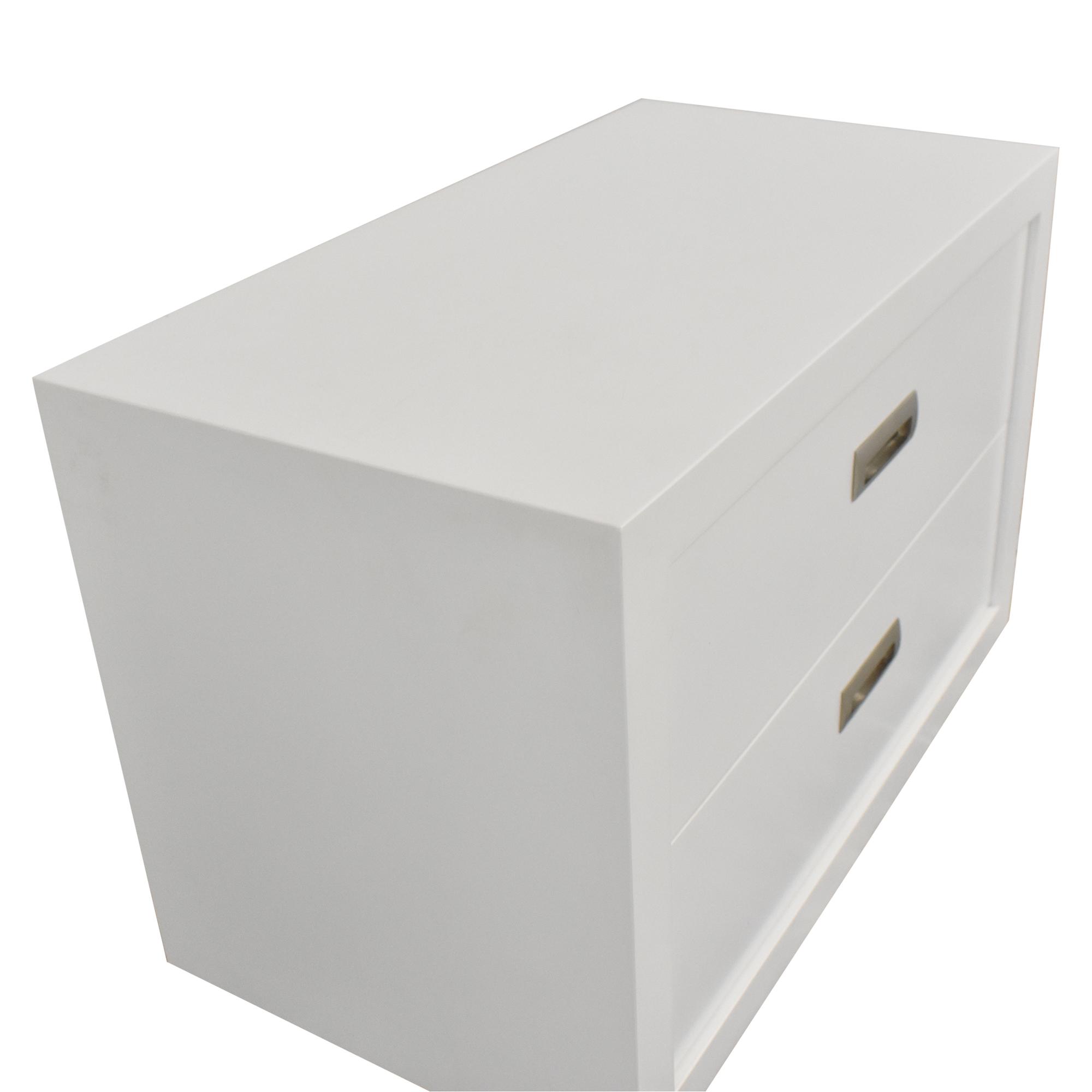 buy Crate & Barrel Crate & Barrel Aspect Modular 2-Drawer Storage Unit online