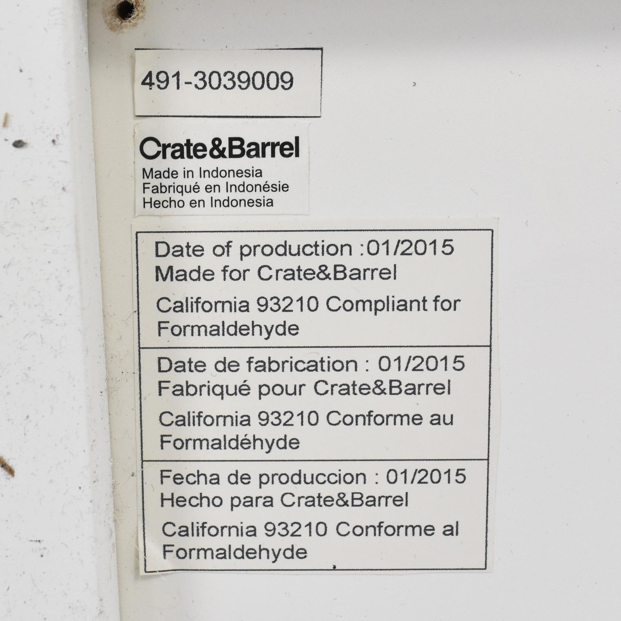 shop Crate & Barrel Crate & Barrel Aspect Modular 2-Drawer Storage Unit online