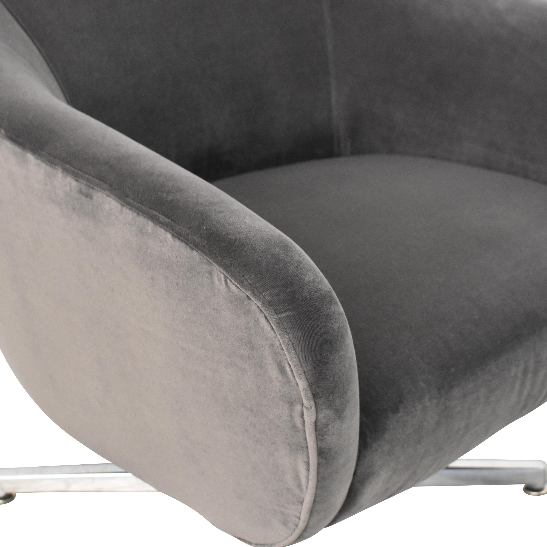 Room & Board Room & Board Carlo Swivel Chair dimensions