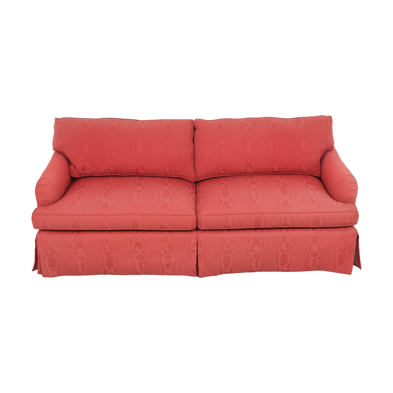 Baker Furniture Baker Two Cushion Skirted Sofa used