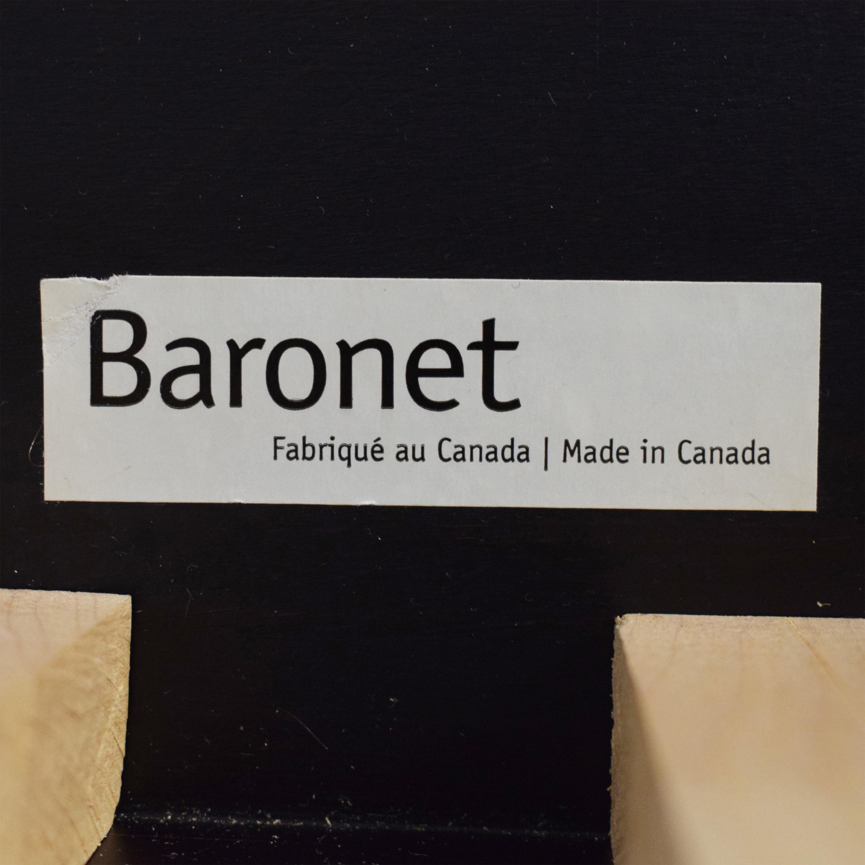 shop Baronet Canada Full Platform Bed Frame Baronet Beds
