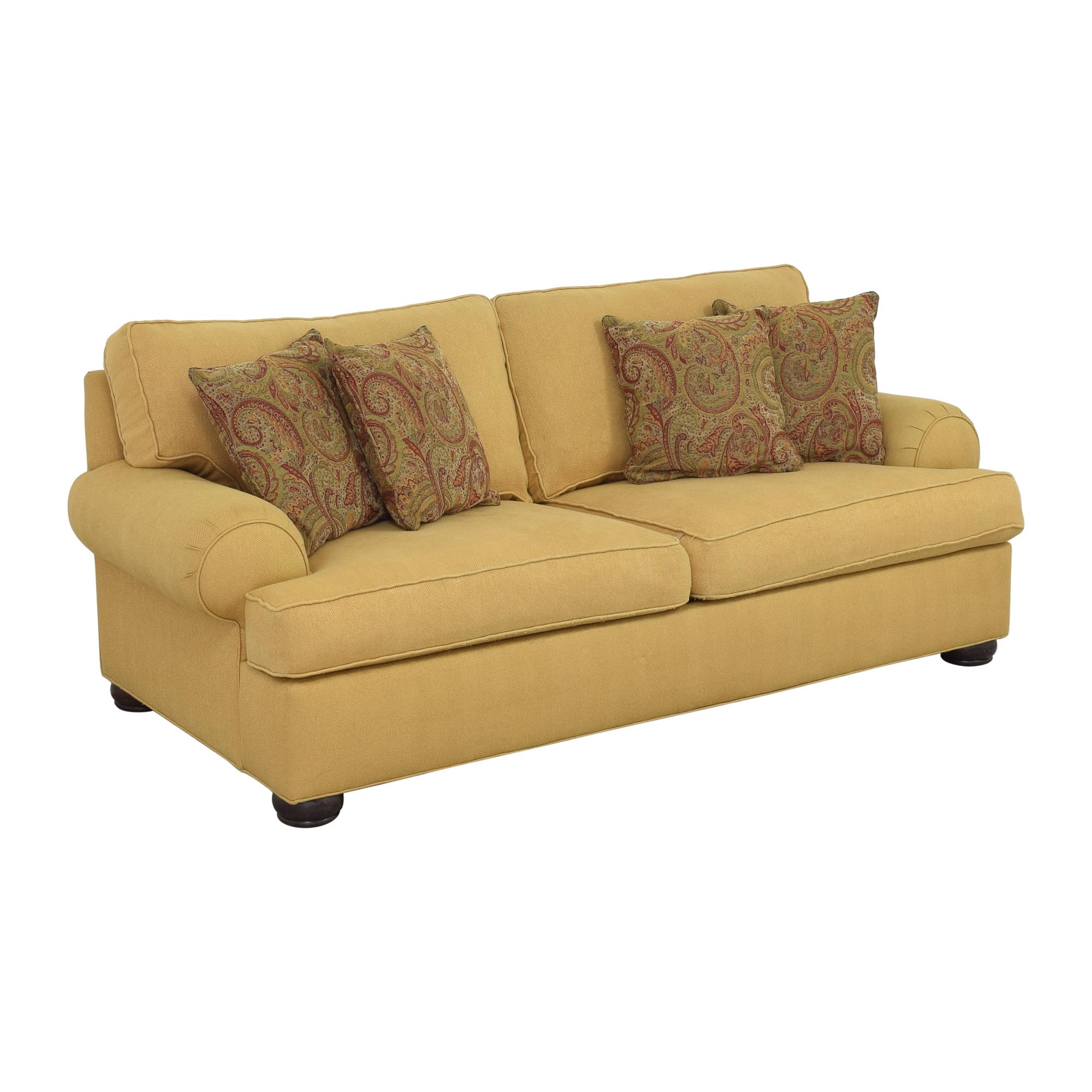 buy Ethan Allen Roll Arm Sofa Ethan Allen Classic Sofas