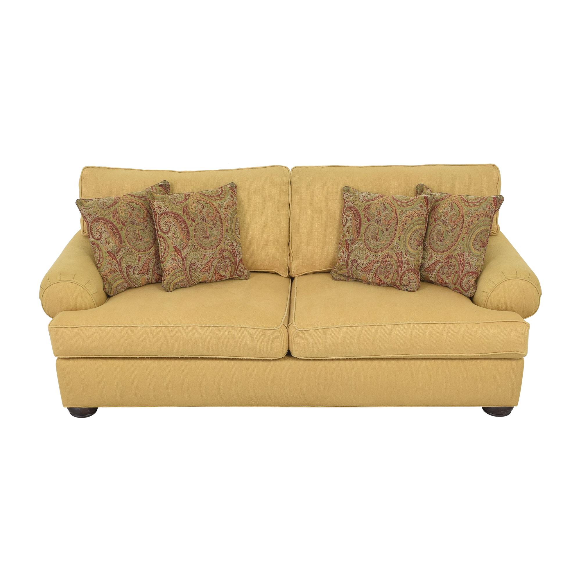 Ethan Allen Ethan Allen Roll Arm Sofa ma