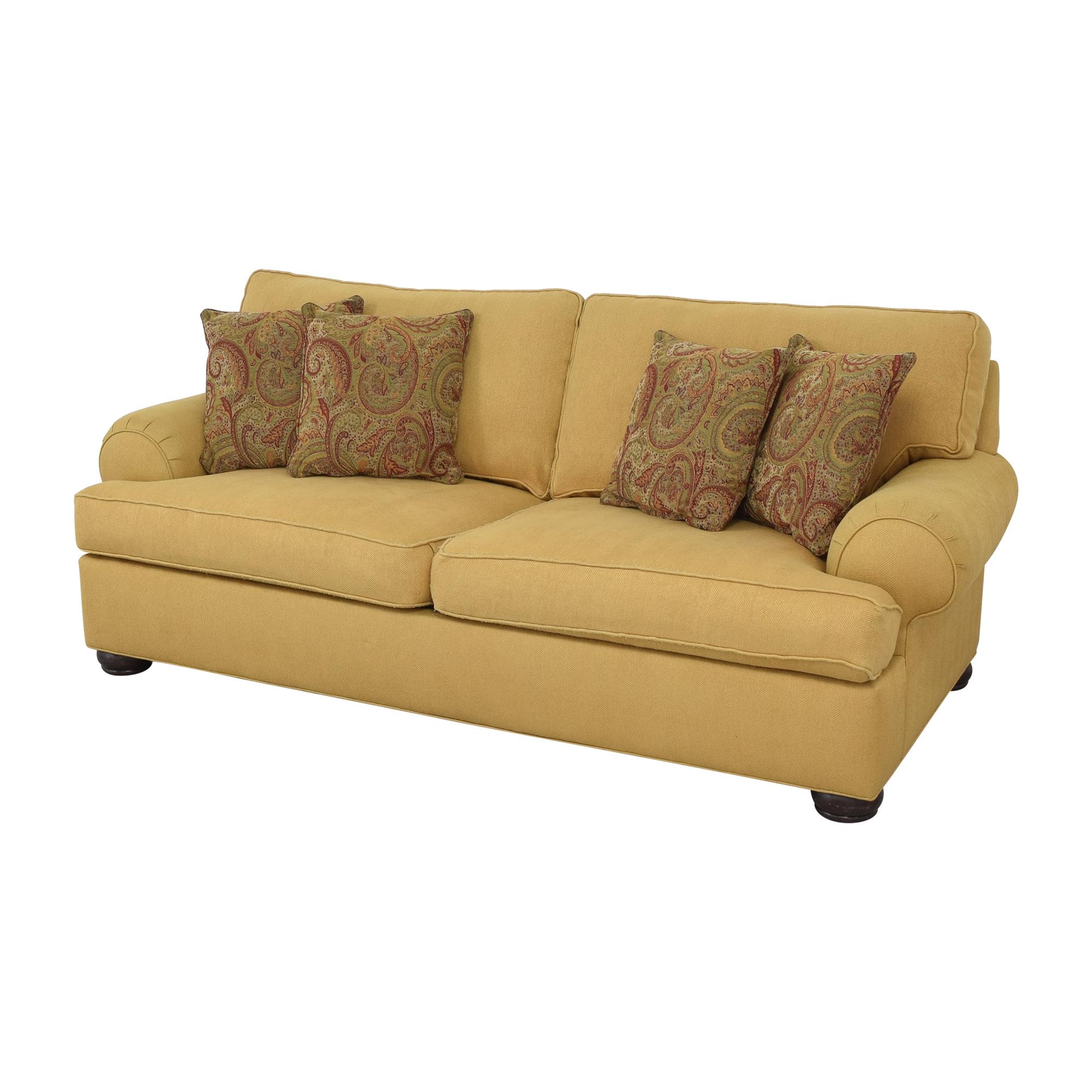 Ethan Allen Ethan Allen Roll Arm Sofa second hand