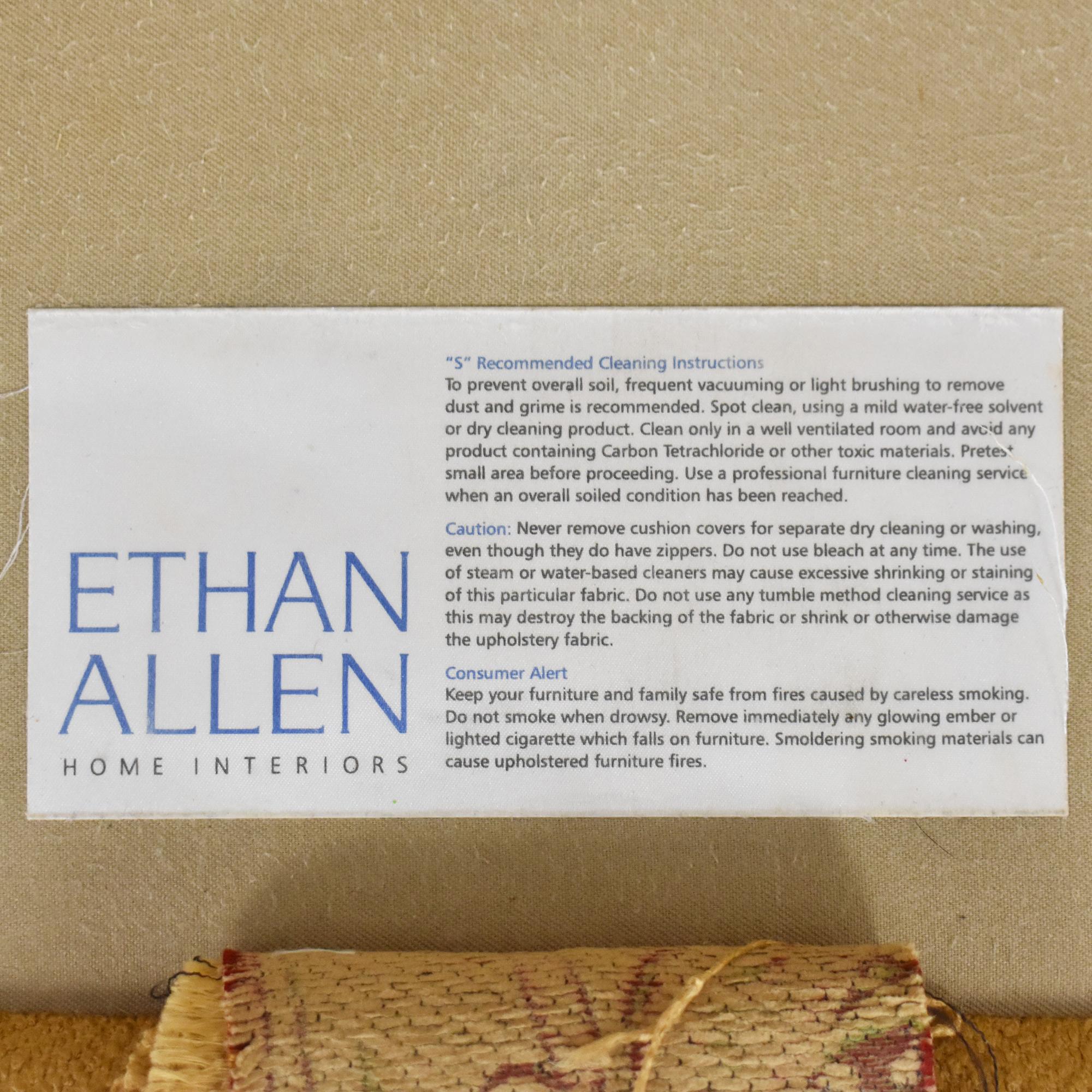 Ethan Allen Ethan Allen Roll Arm Sofa Classic Sofas