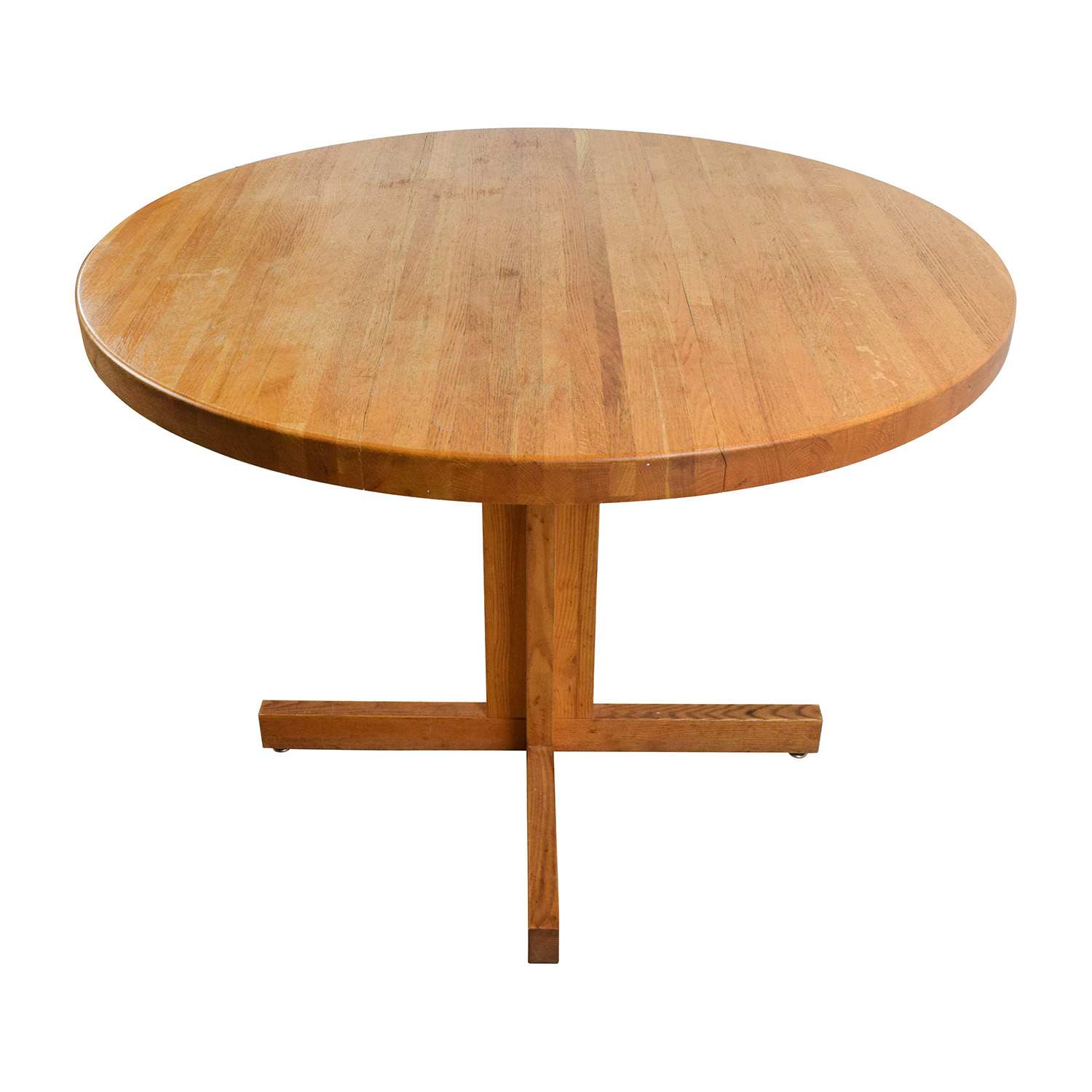 Solid Oak Round Table dimensions