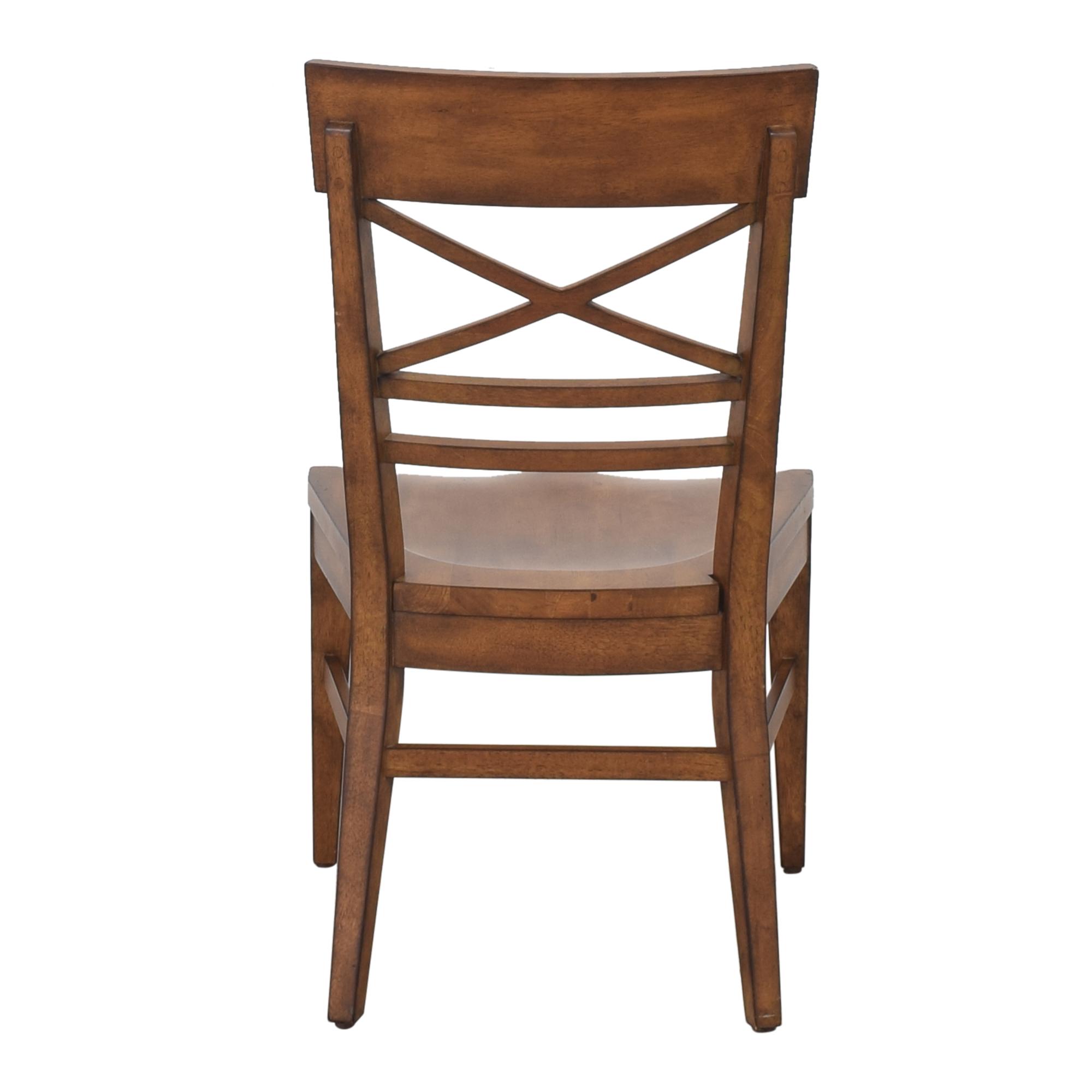 Ethan Allen Ethan Allen Blake Wood-Seat Side Chair ct